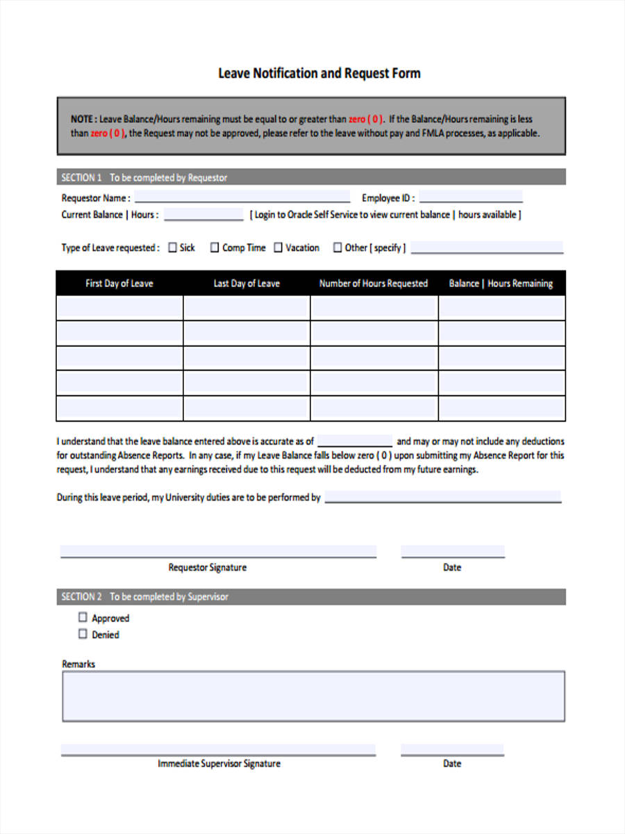 Sample request letter for leave without pay