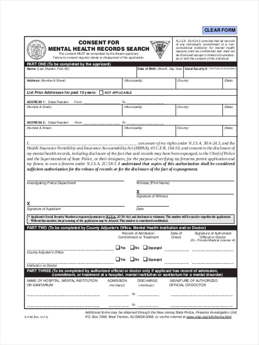 free 9  health consent form in sample  example  format