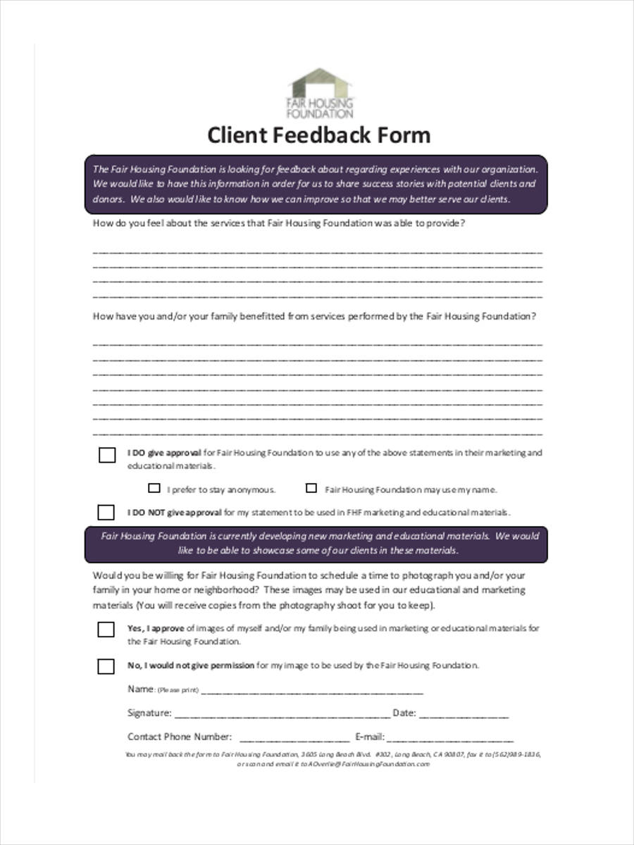 photography feedback in pdf