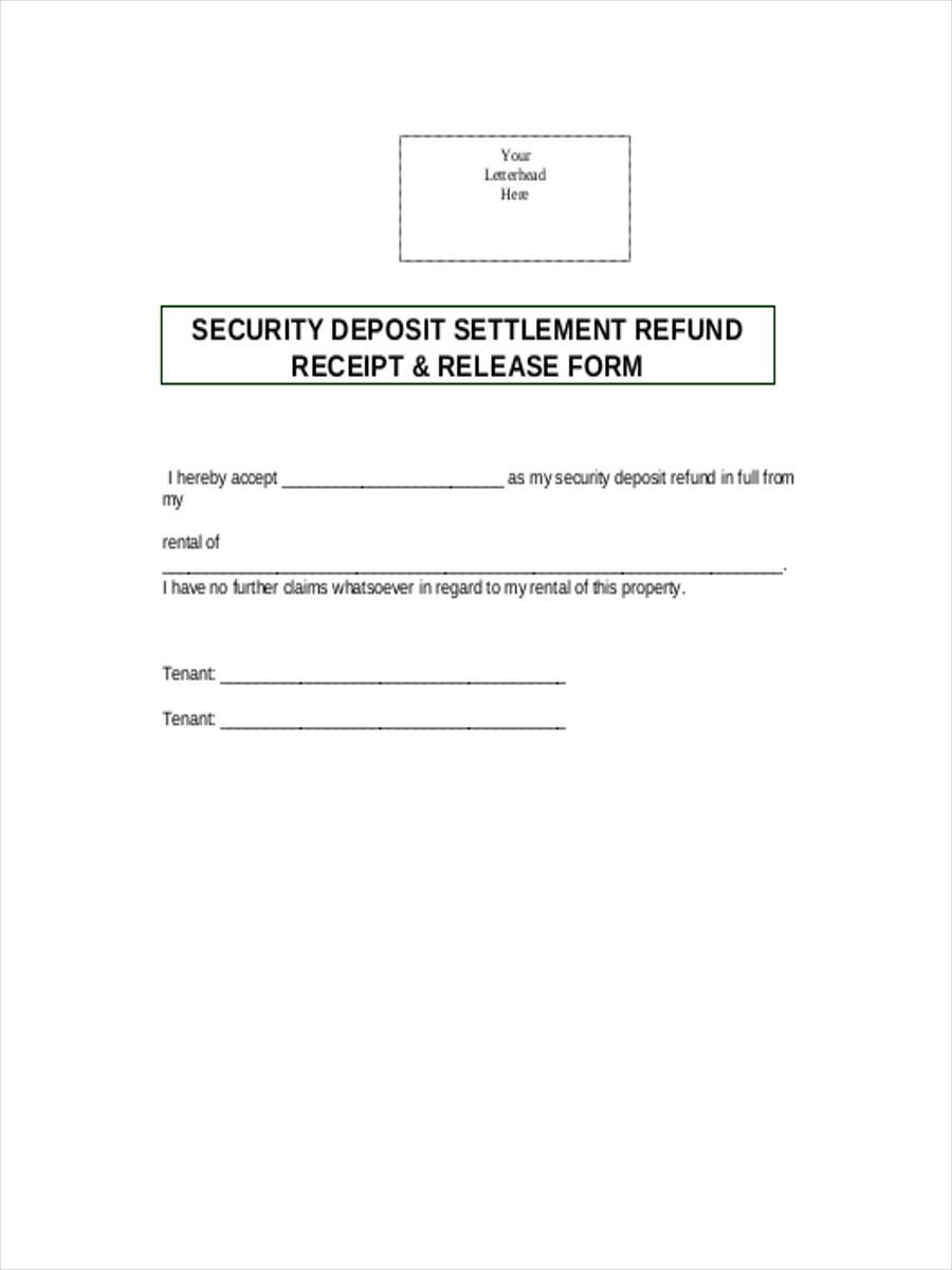 rental security deposit