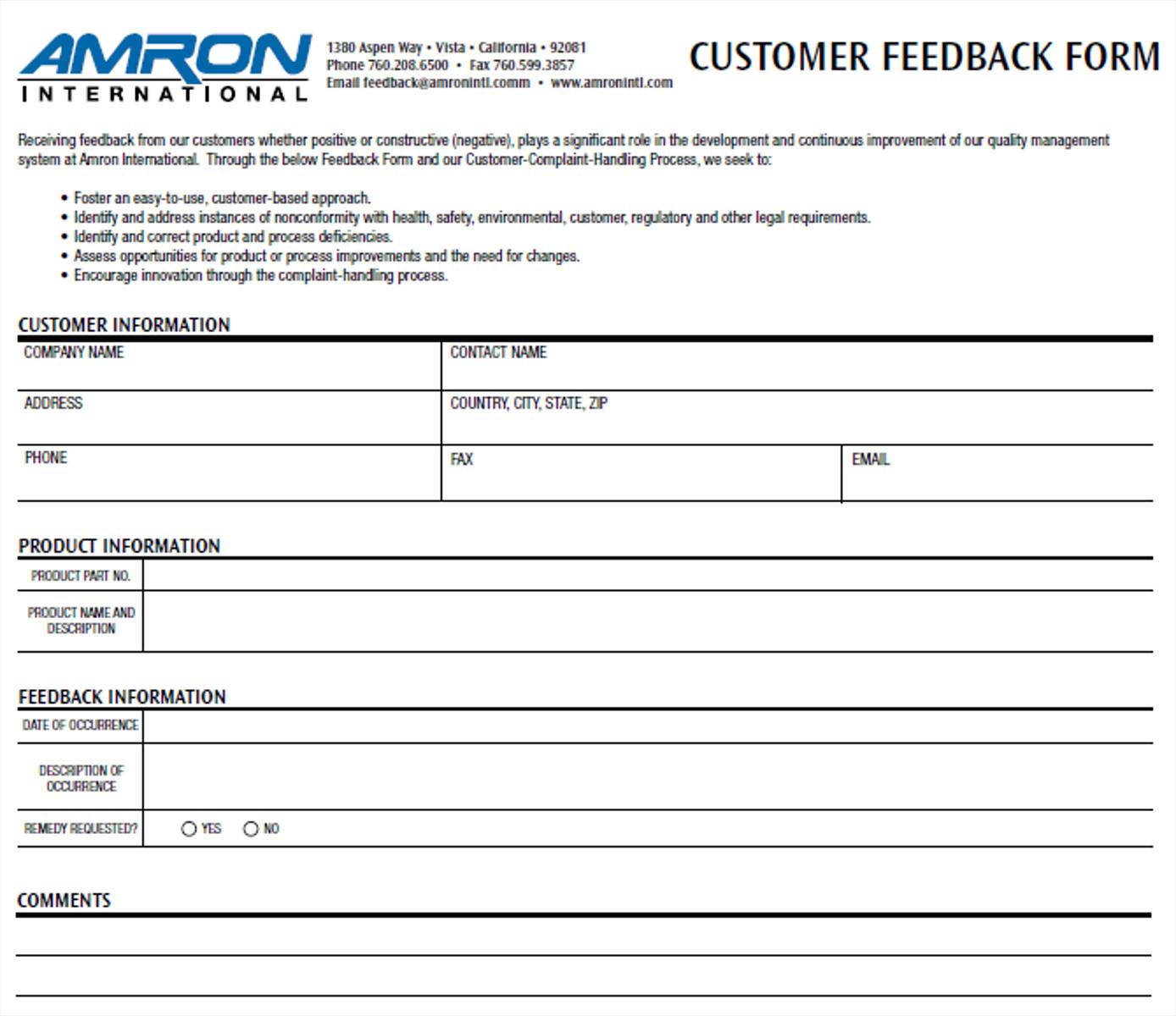 sample business customer