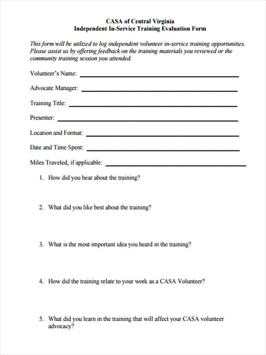 service training feedback1