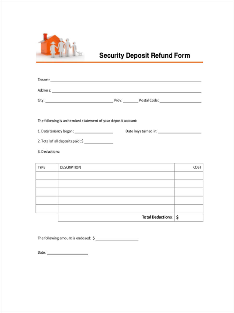 tenancy security deposit