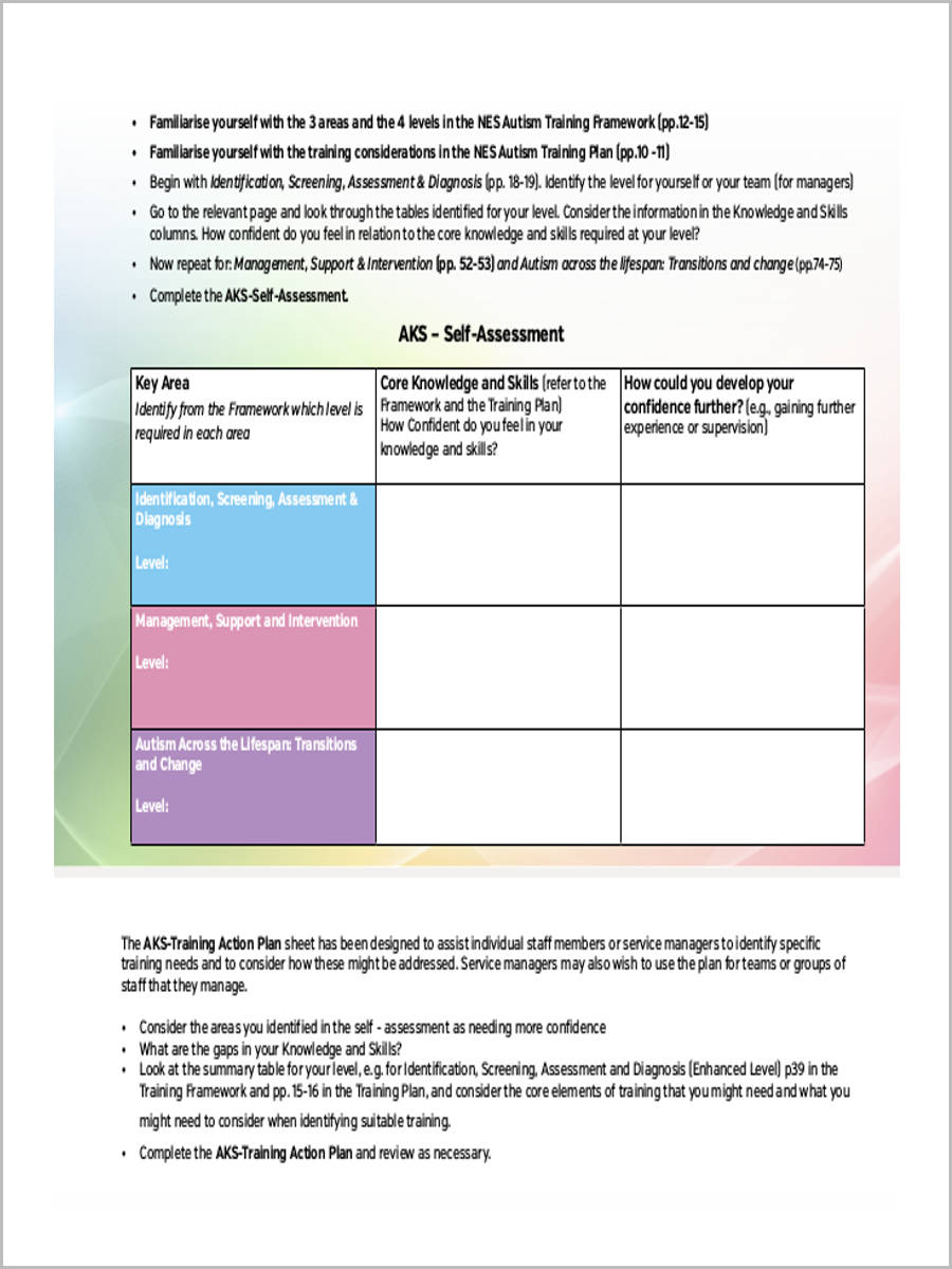 FREE 6+ Training Needs Assessment Forms in PDF