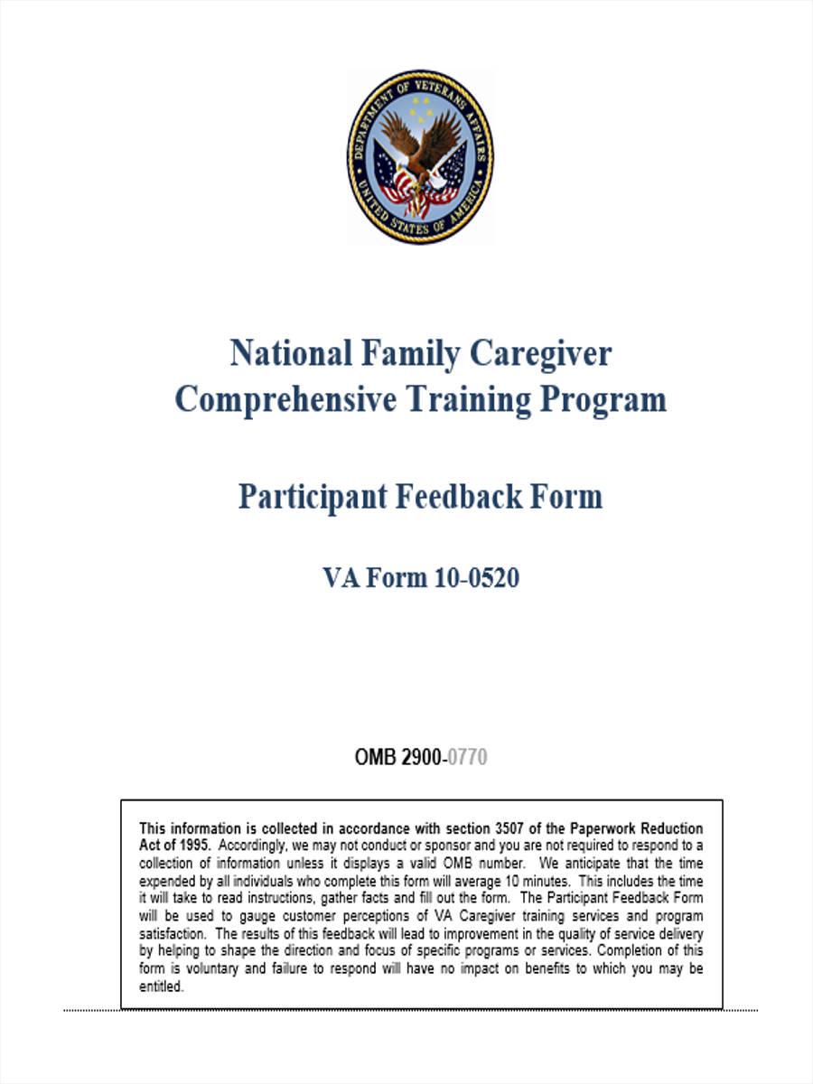 training participant feedback1