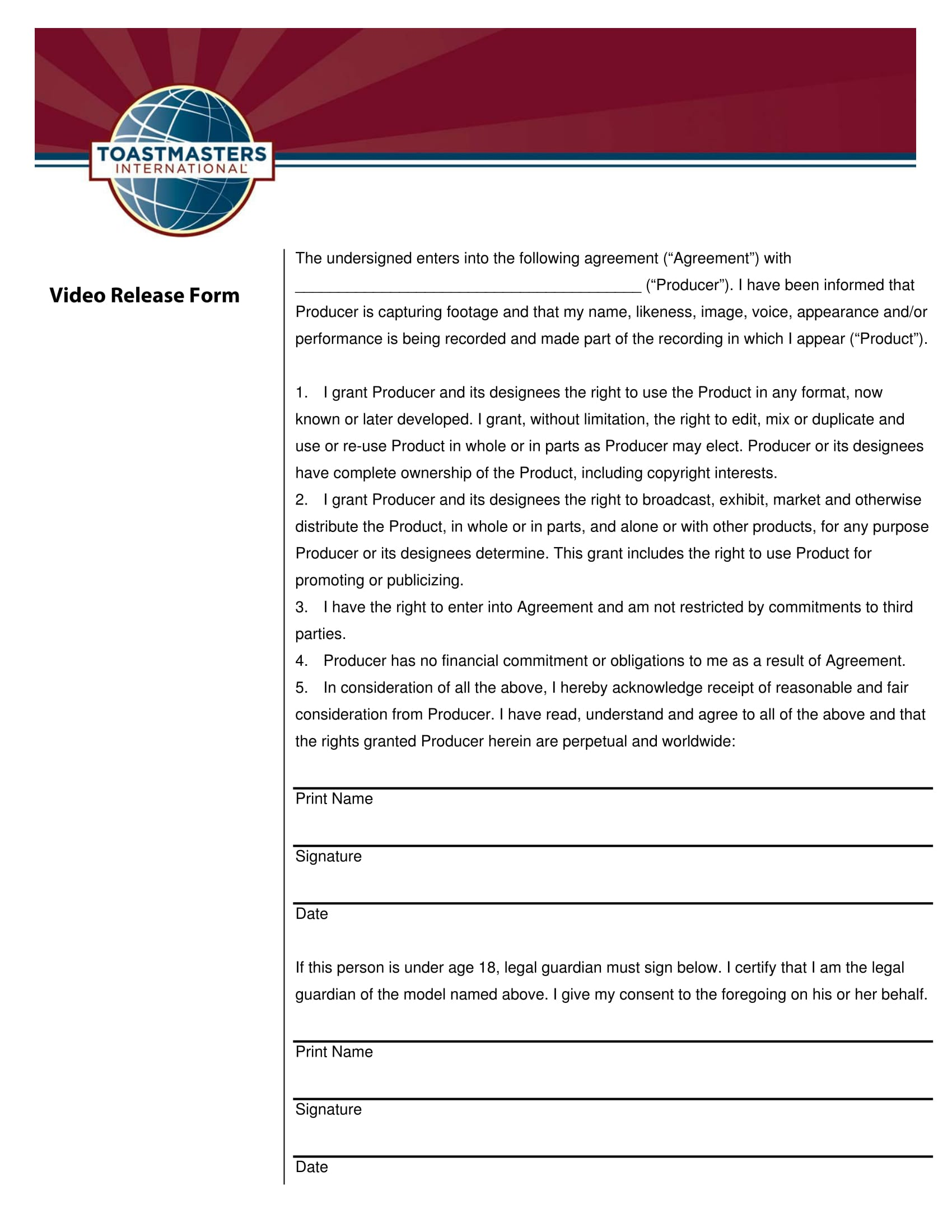 video release form in pdf 1