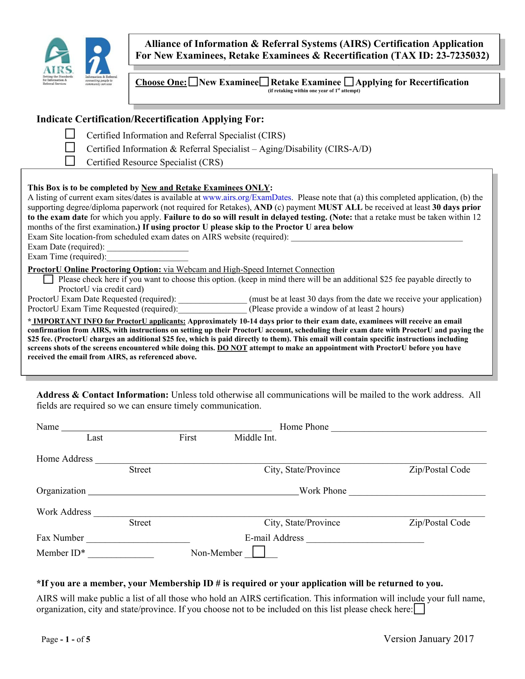 29 Application Forms In Pdf