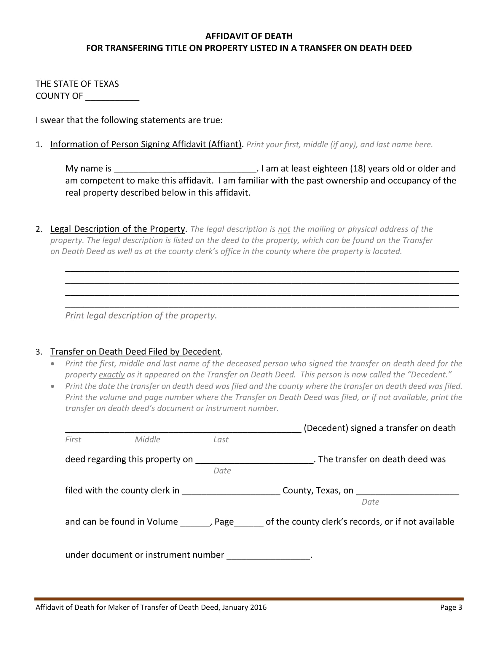 19+ Free Affidavit Forms