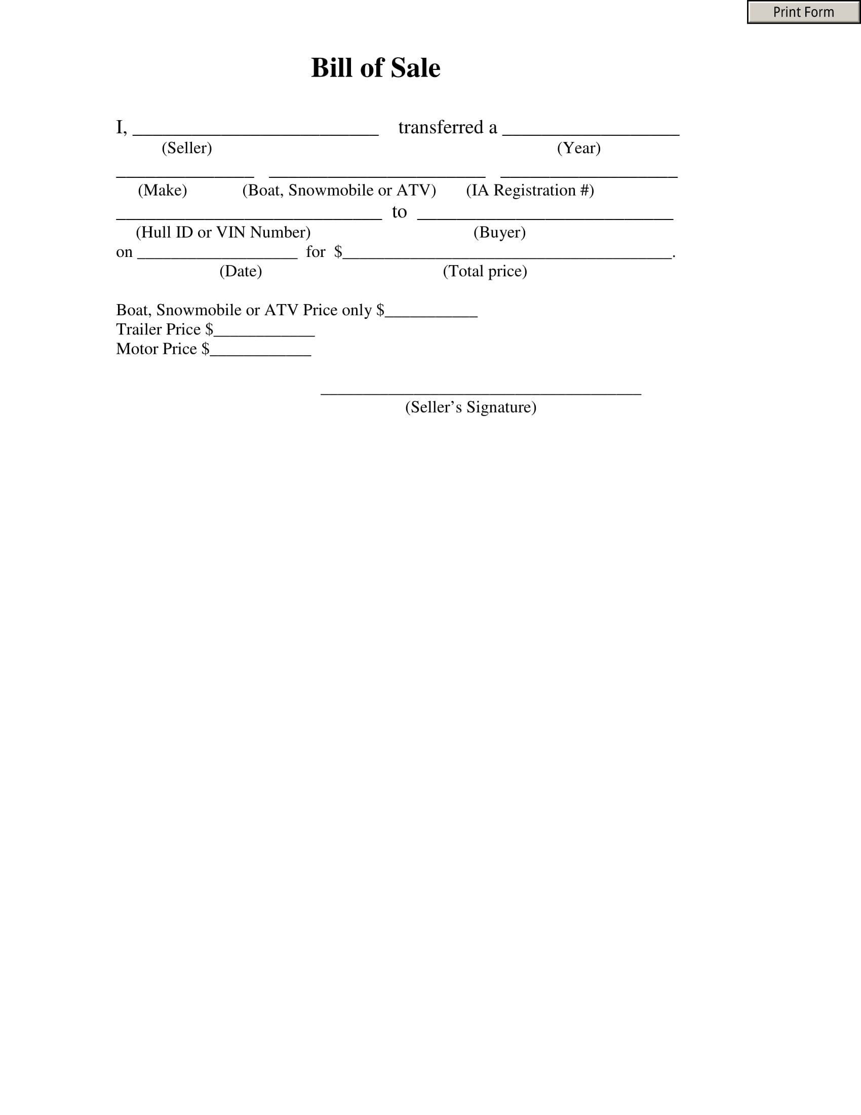 free 8  the farmer u0026 39 s guide to bill of sale forms