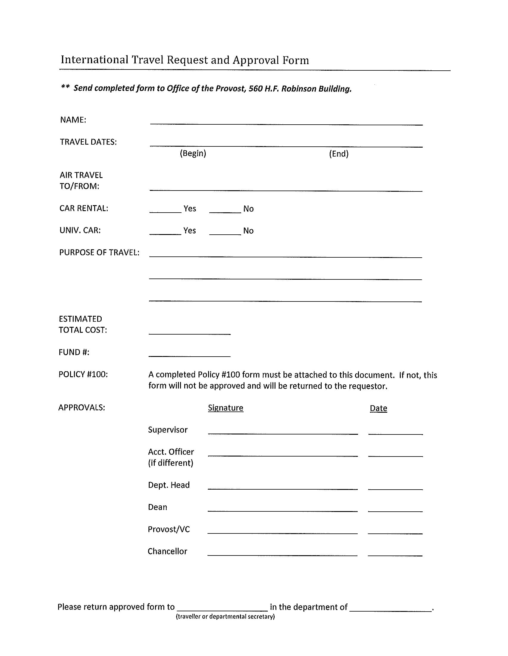 10 approval forms travel request and approval form event and international travel request approval form 1 thecheapjerseys Choice Image