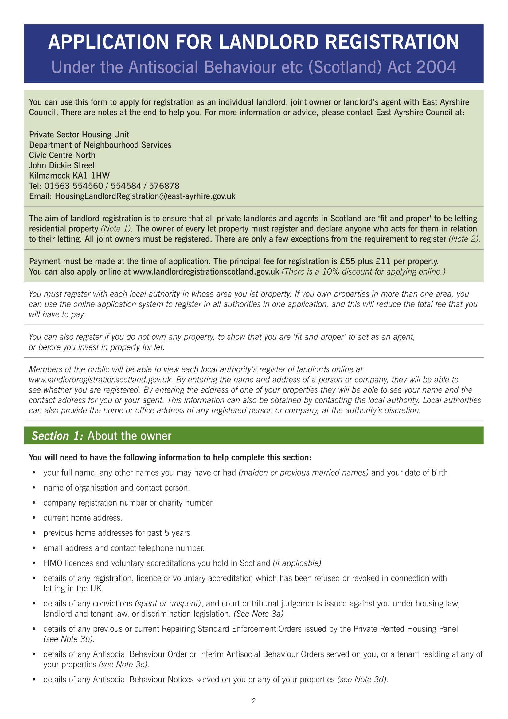 application for landlord registration form 02