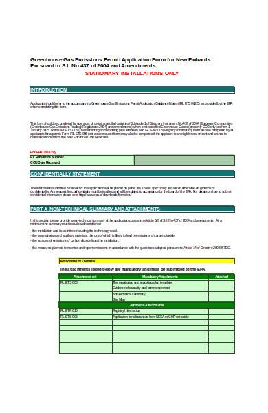 basic permit application form