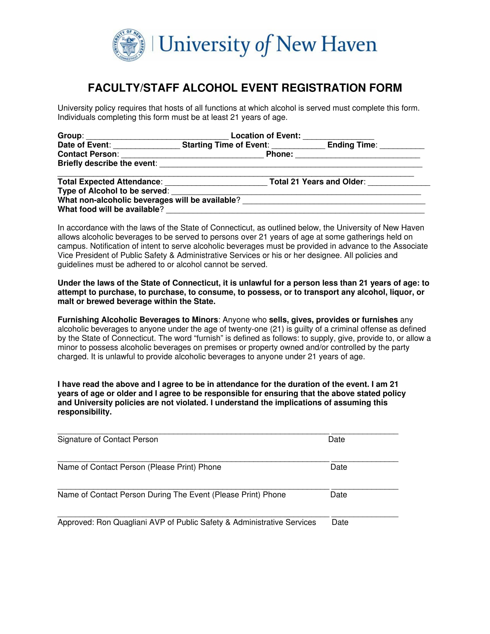 faculty event registration form 1