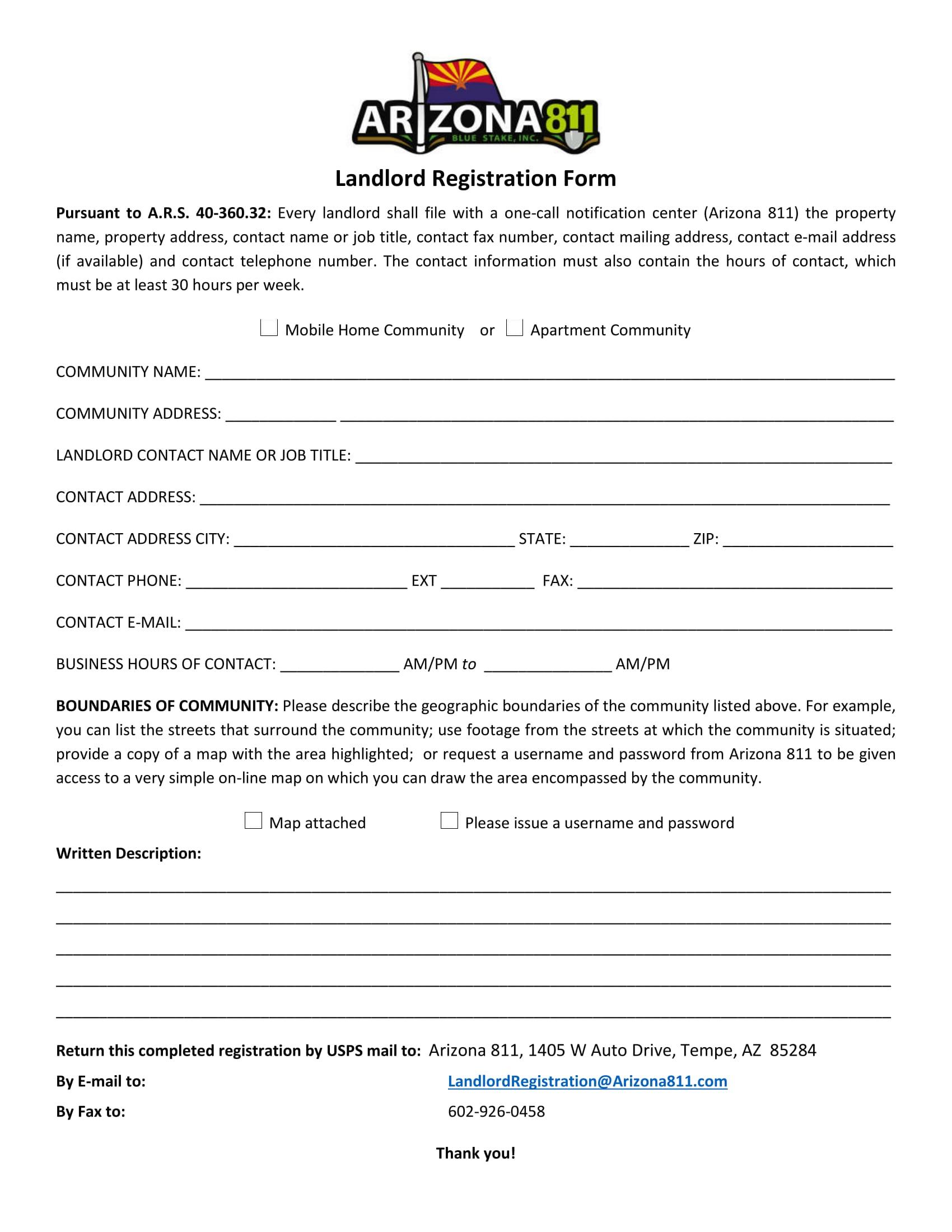 landlord registration form 1
