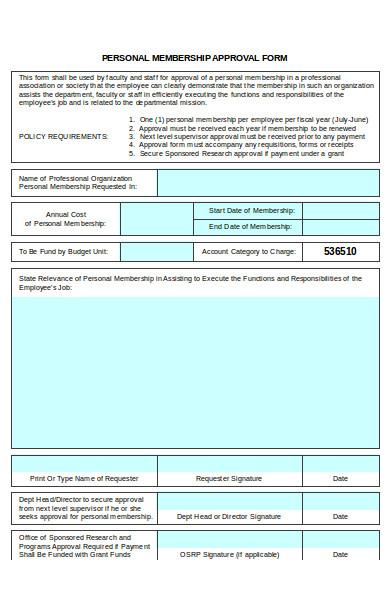 membership approval form1