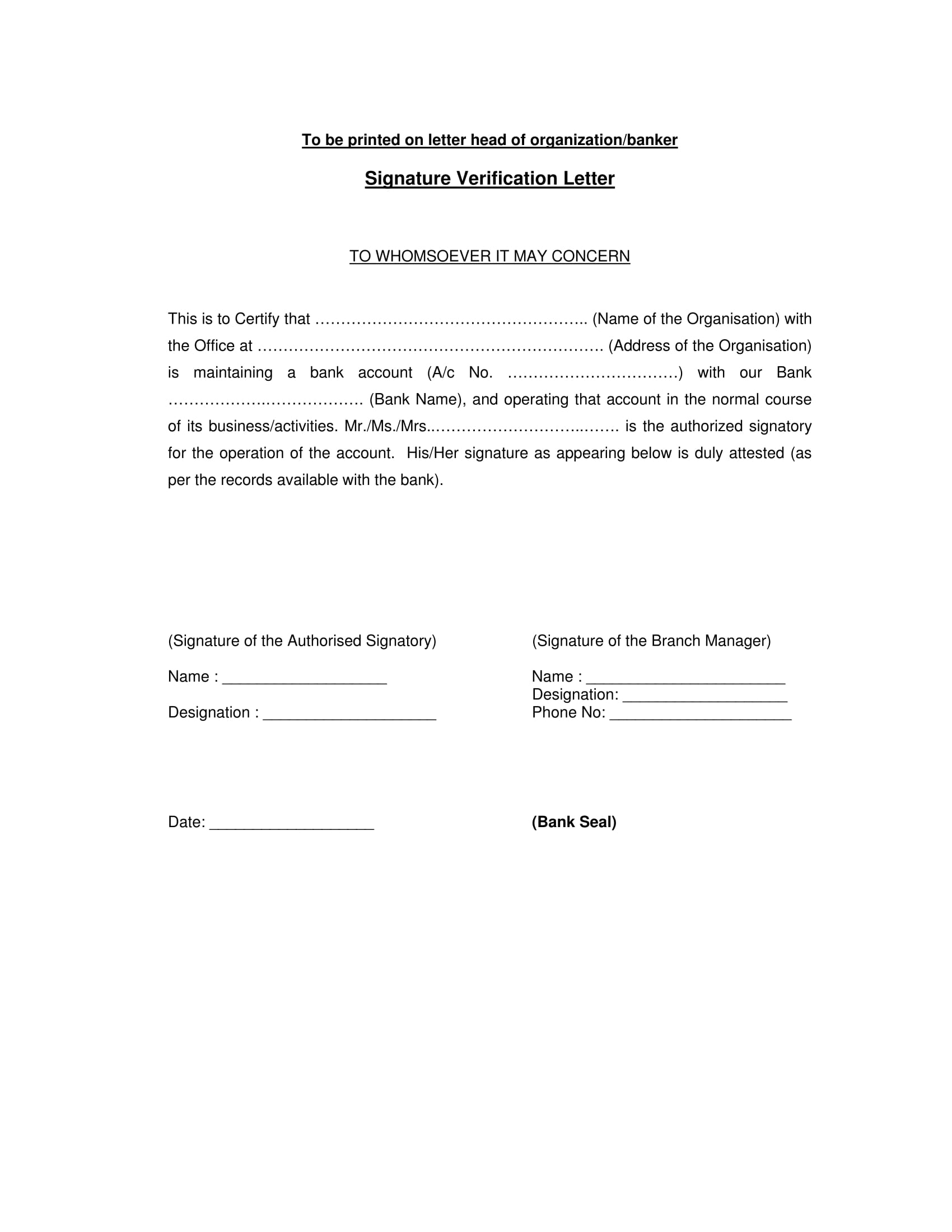Organization Signature Verification Form 2 Jpg