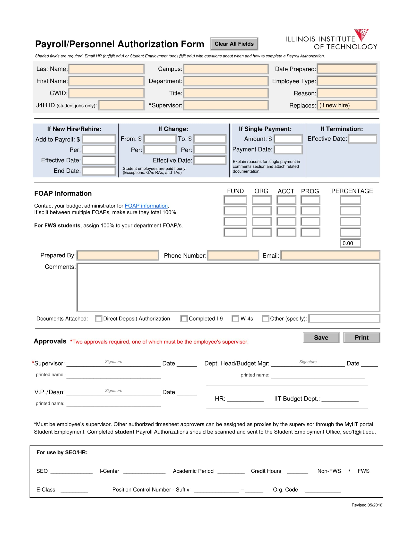 payroll authorization verification form 1