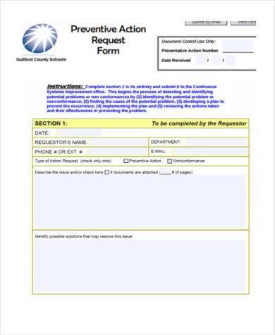 preventive request 390