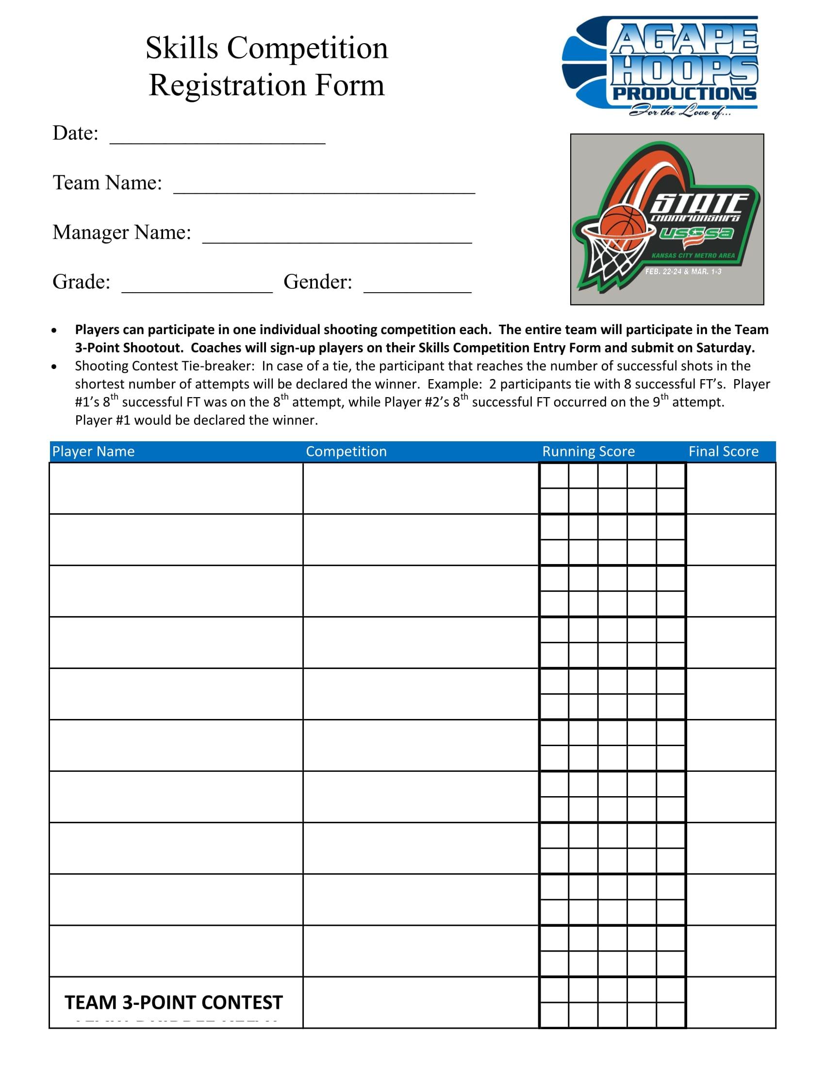 skills competition registration form 1