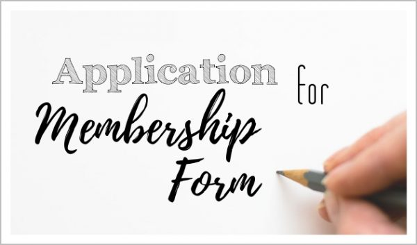 Application For Membership Form
