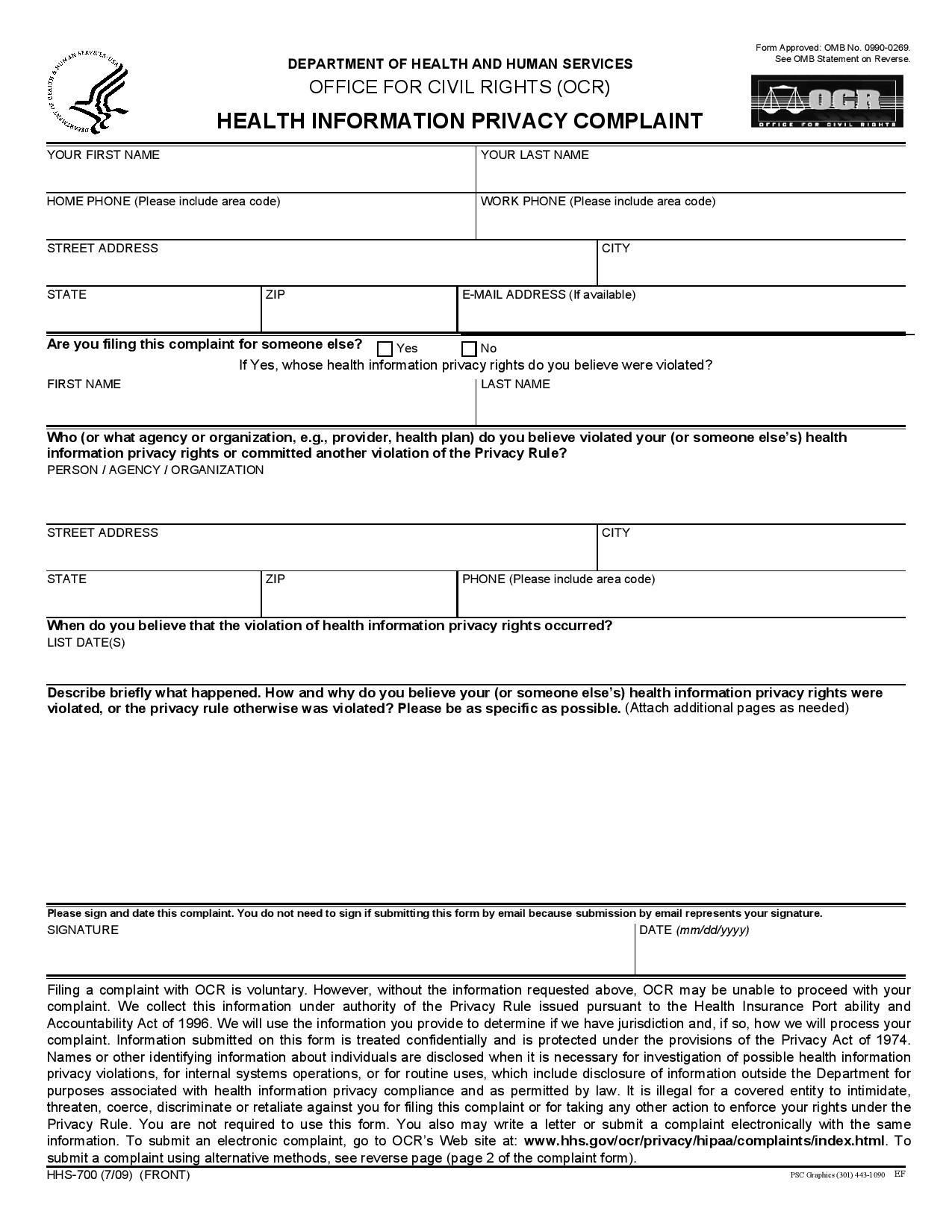 hipcomplaintform page 001