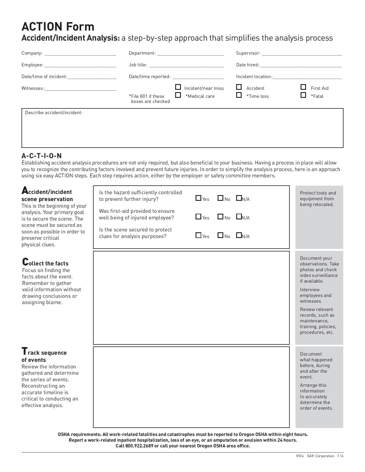 accident or incident action form page 001