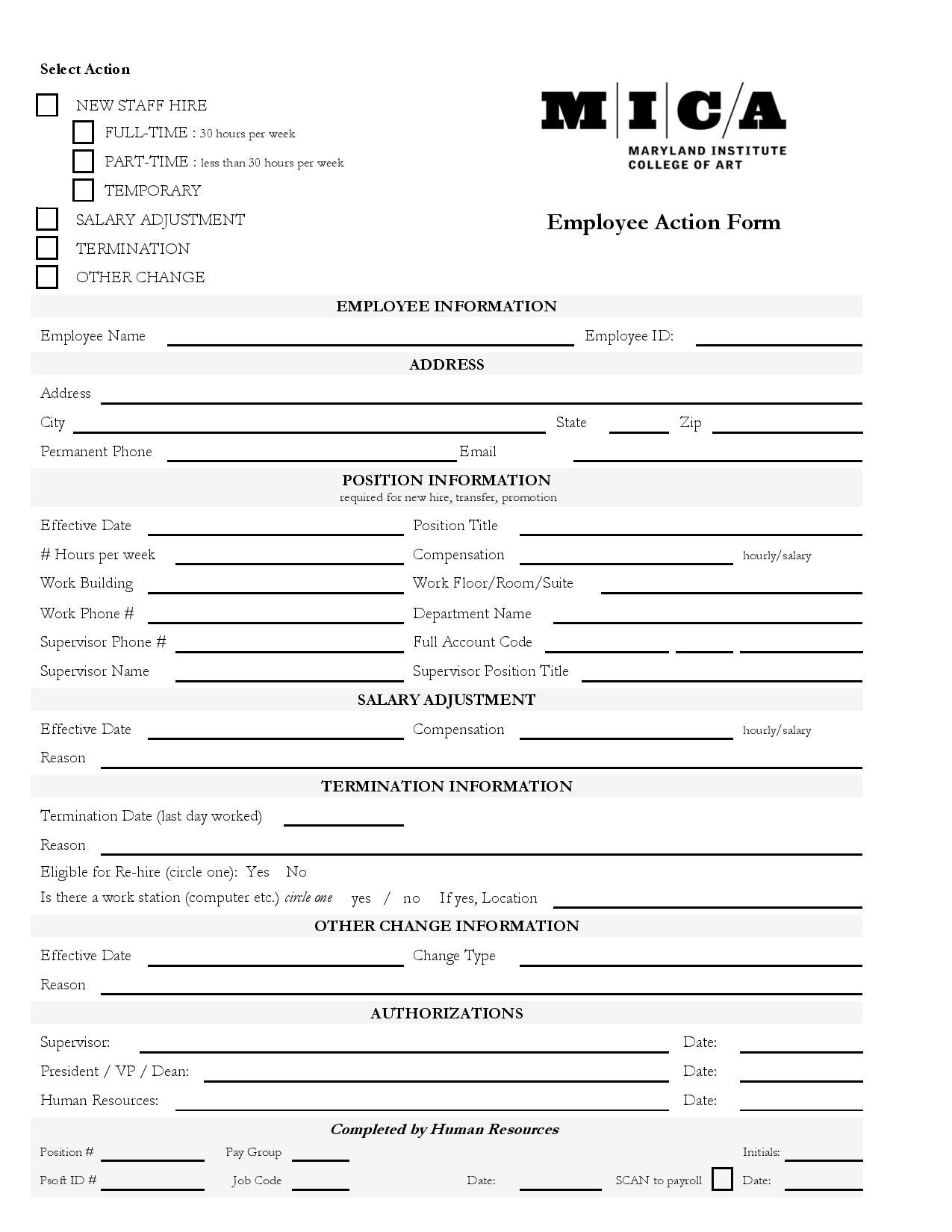 employee action form page 0011