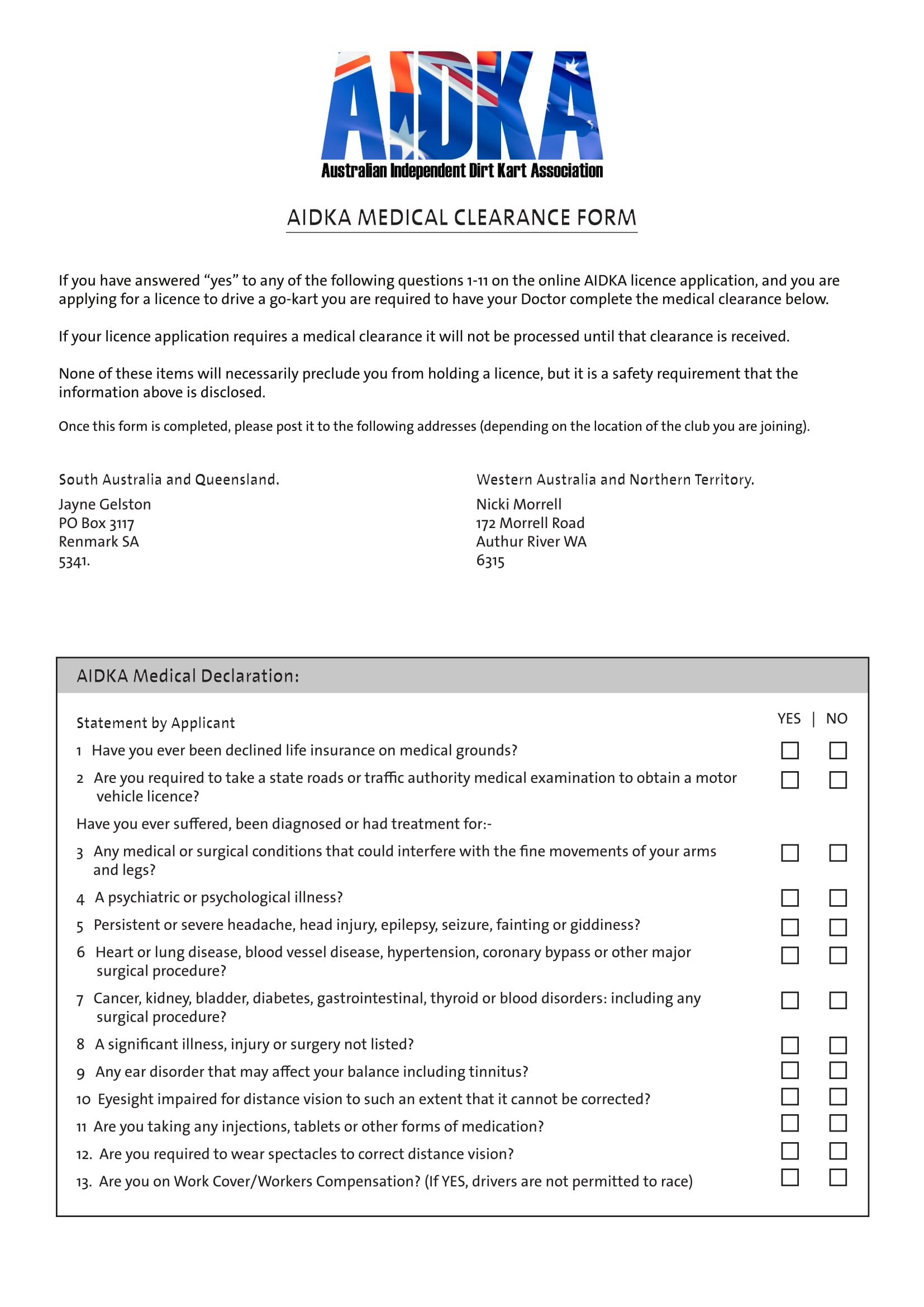 free 30  medical clearance forms in pdf