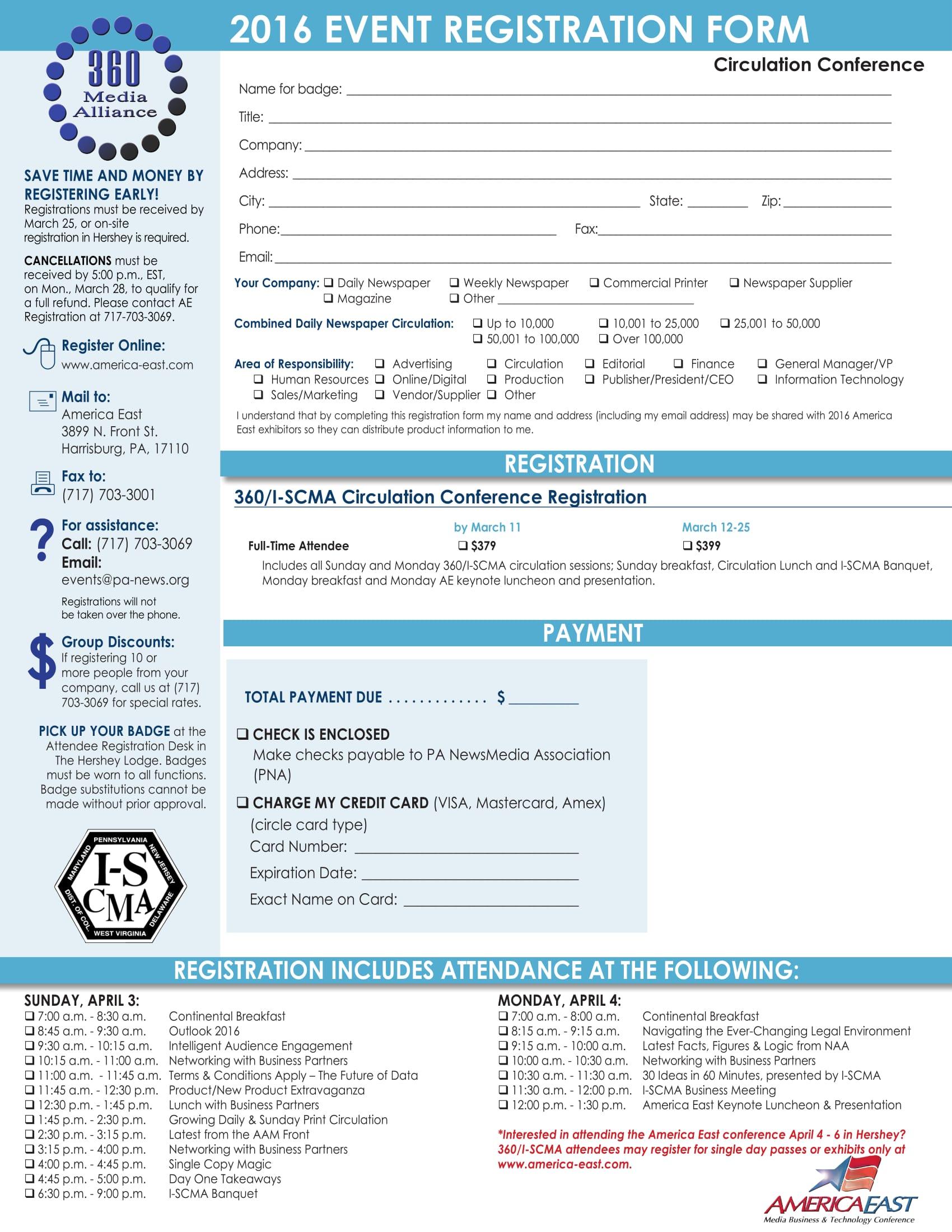 media conference event registration form 1