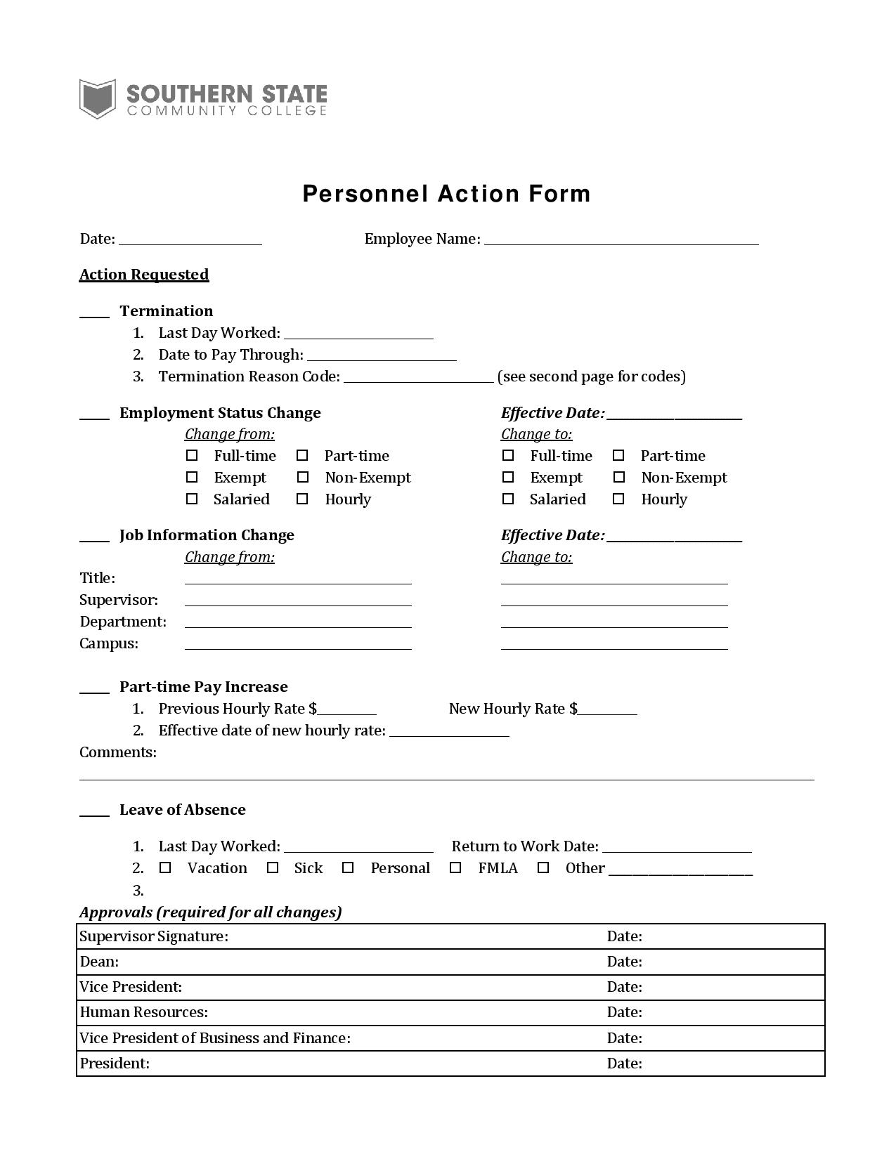 personnel action form2 page 0011