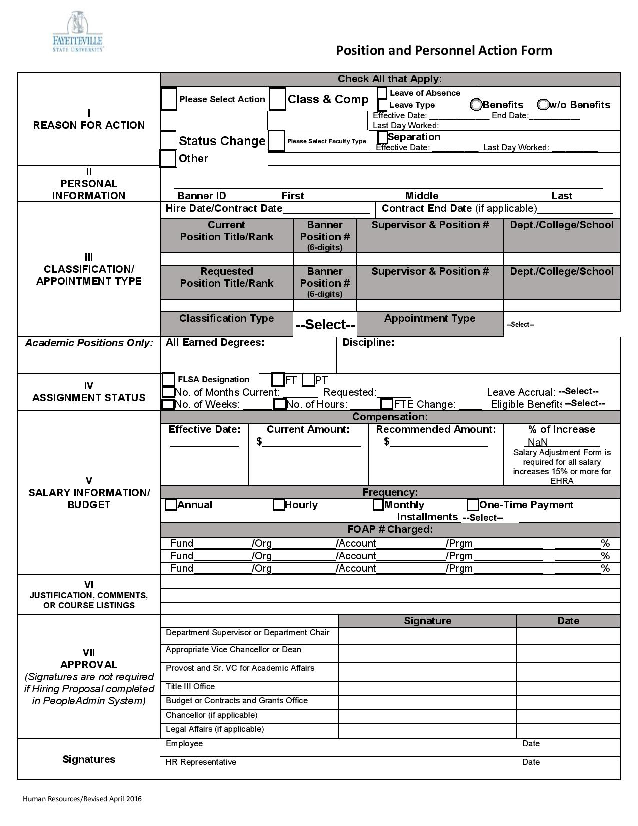 position and personnel action form ppa page 001