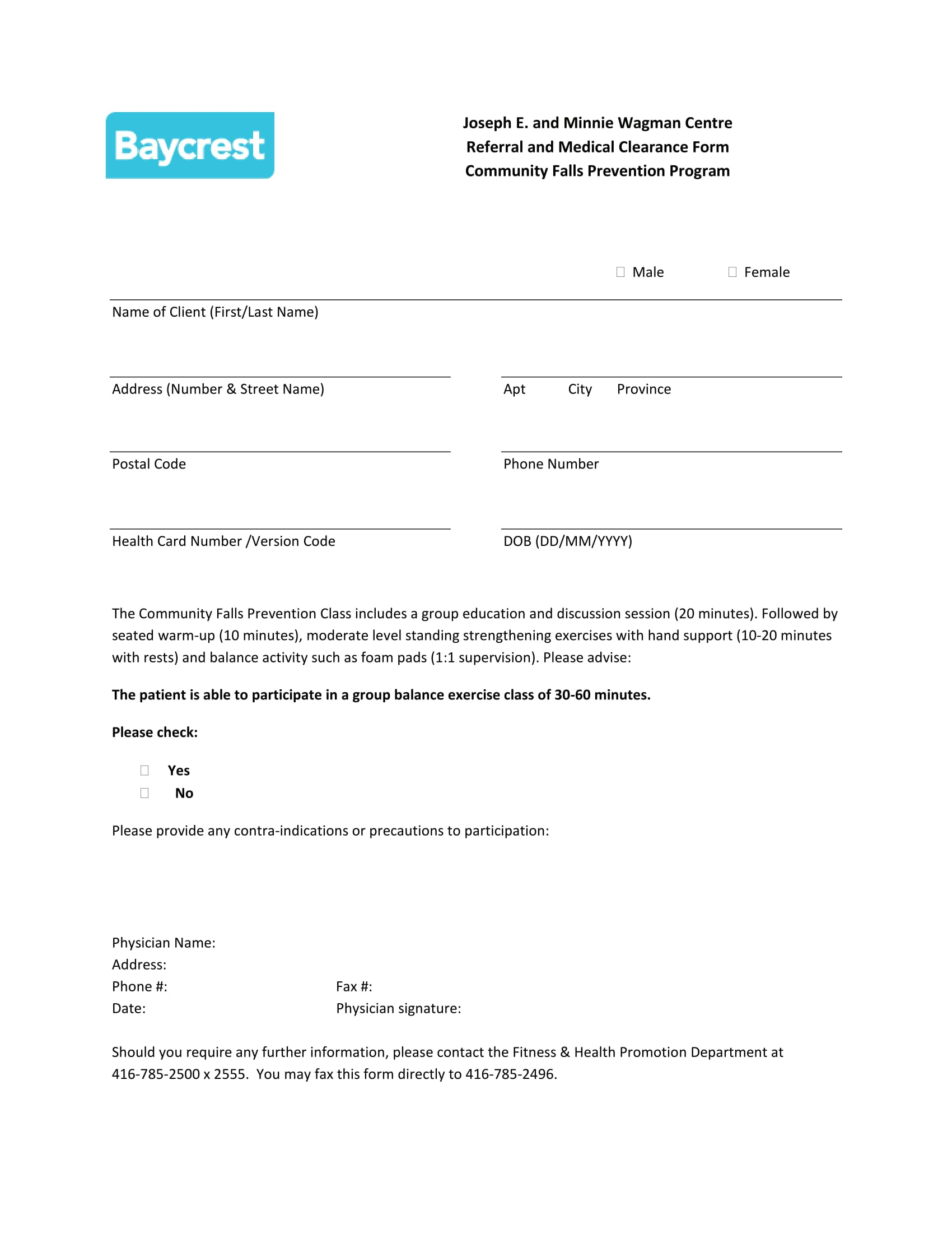 referral and medical clearance form 1