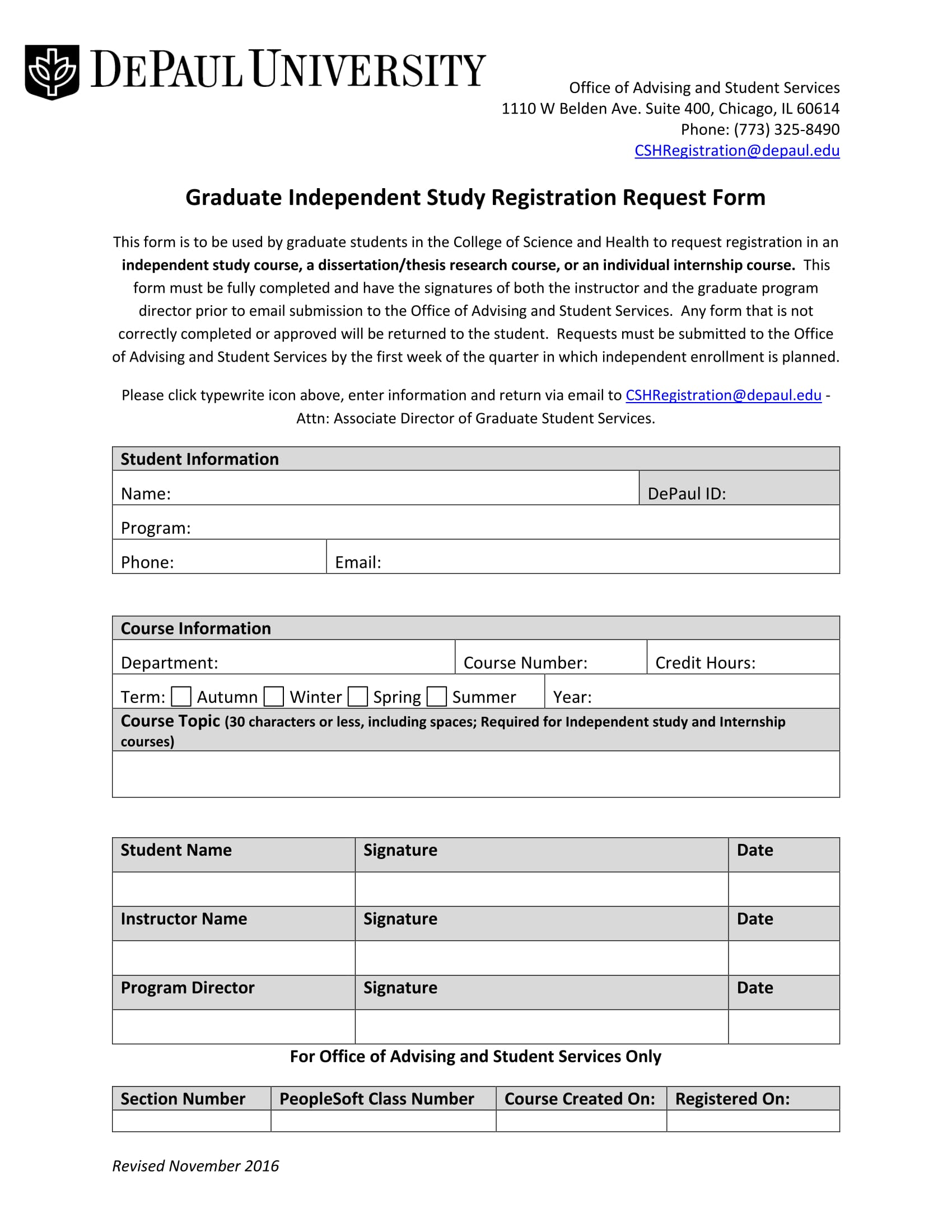study registration request form 1