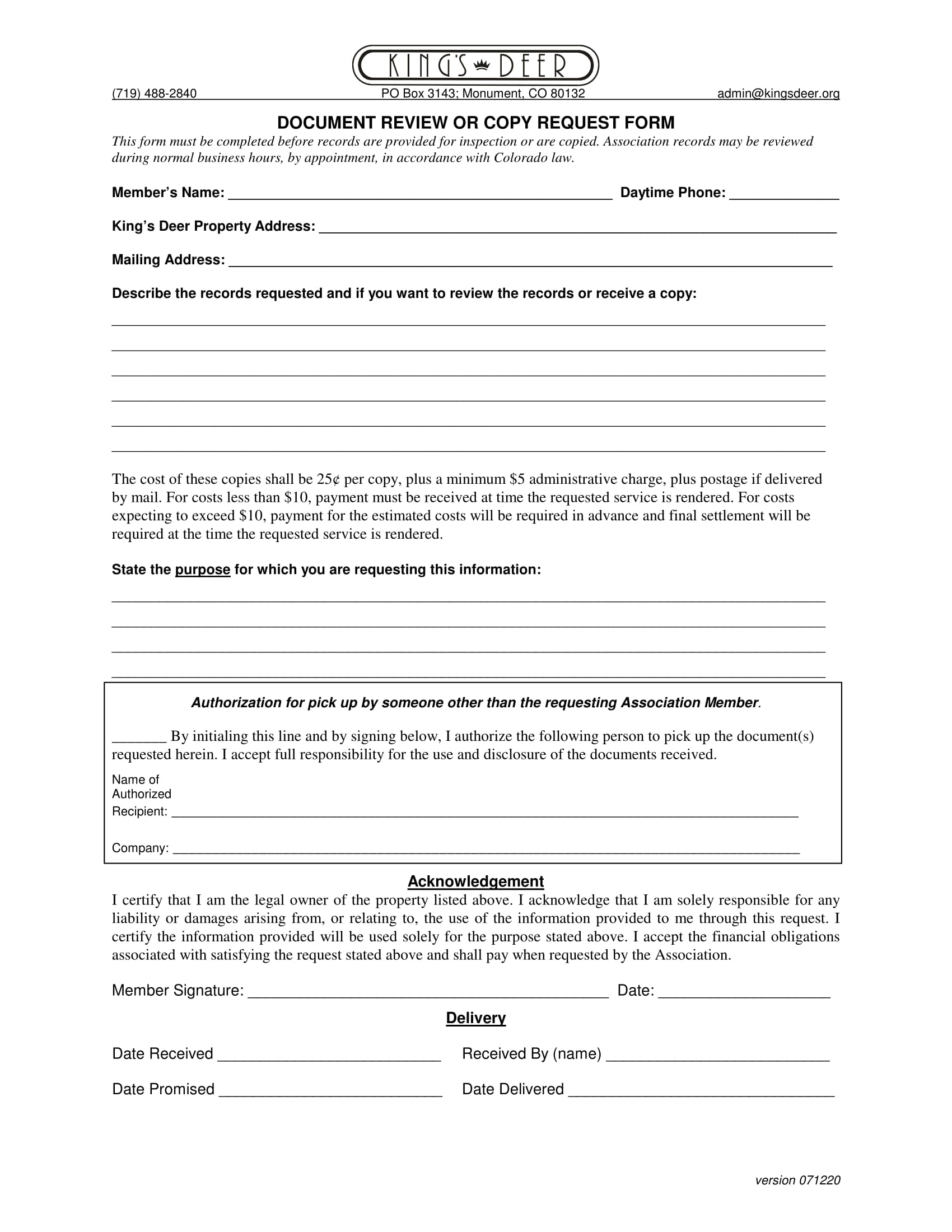 document review or copy request form 1