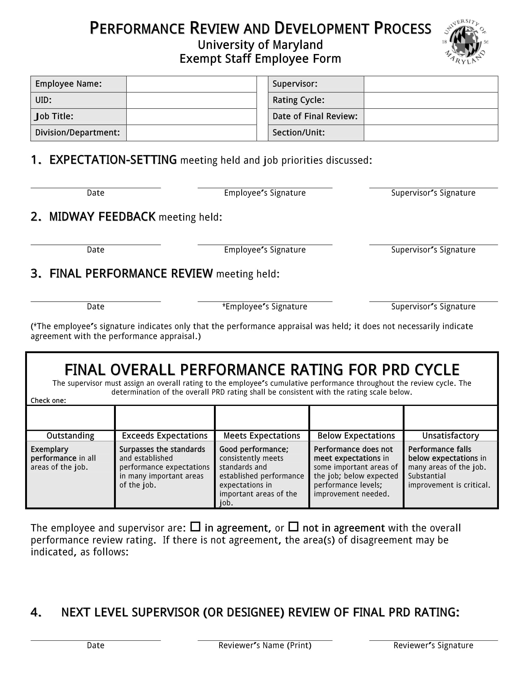 14+ Review Forms for Staff