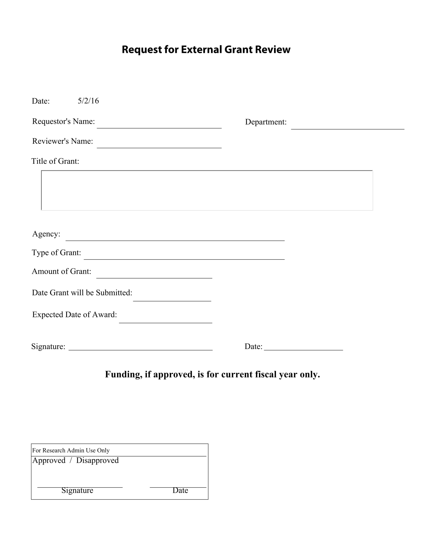 external grant review form 1