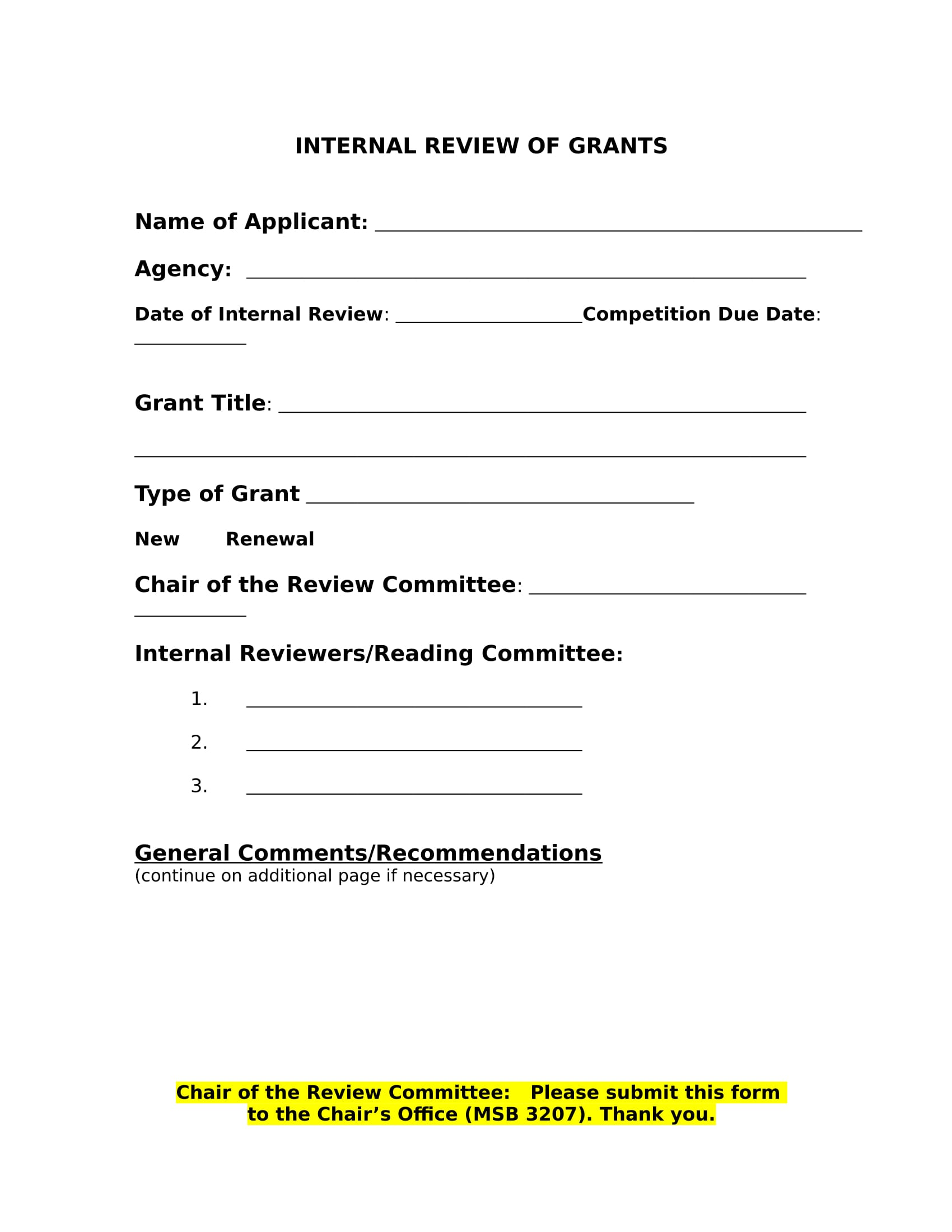 internal grant review forms 3