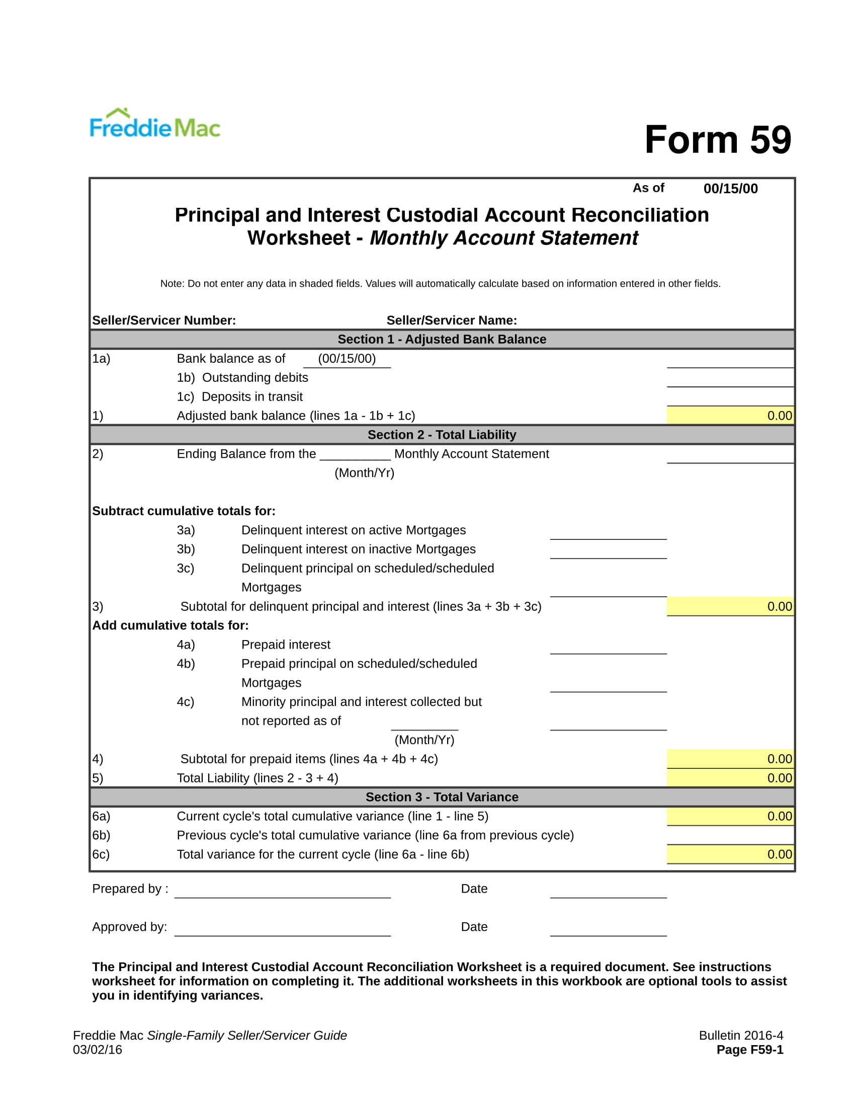 FREE 31 Statement Forms In Excel PDF