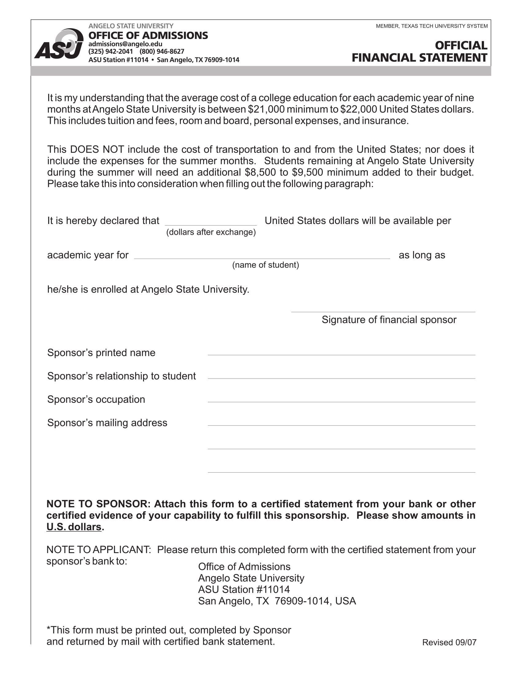 14 official statement form samples free word pdf format download