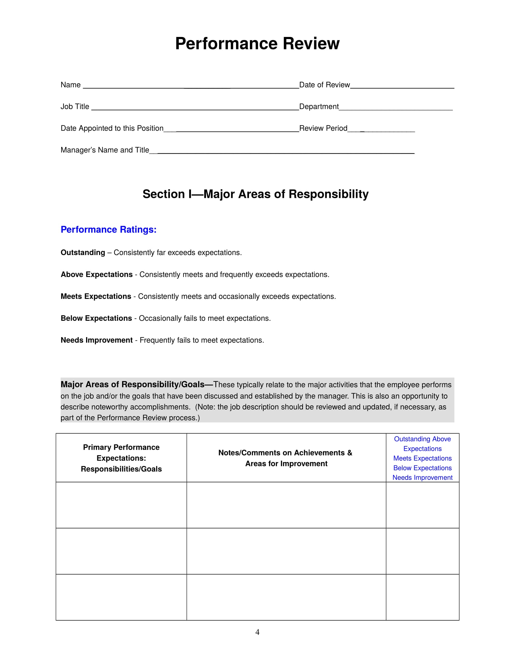performance review form 04