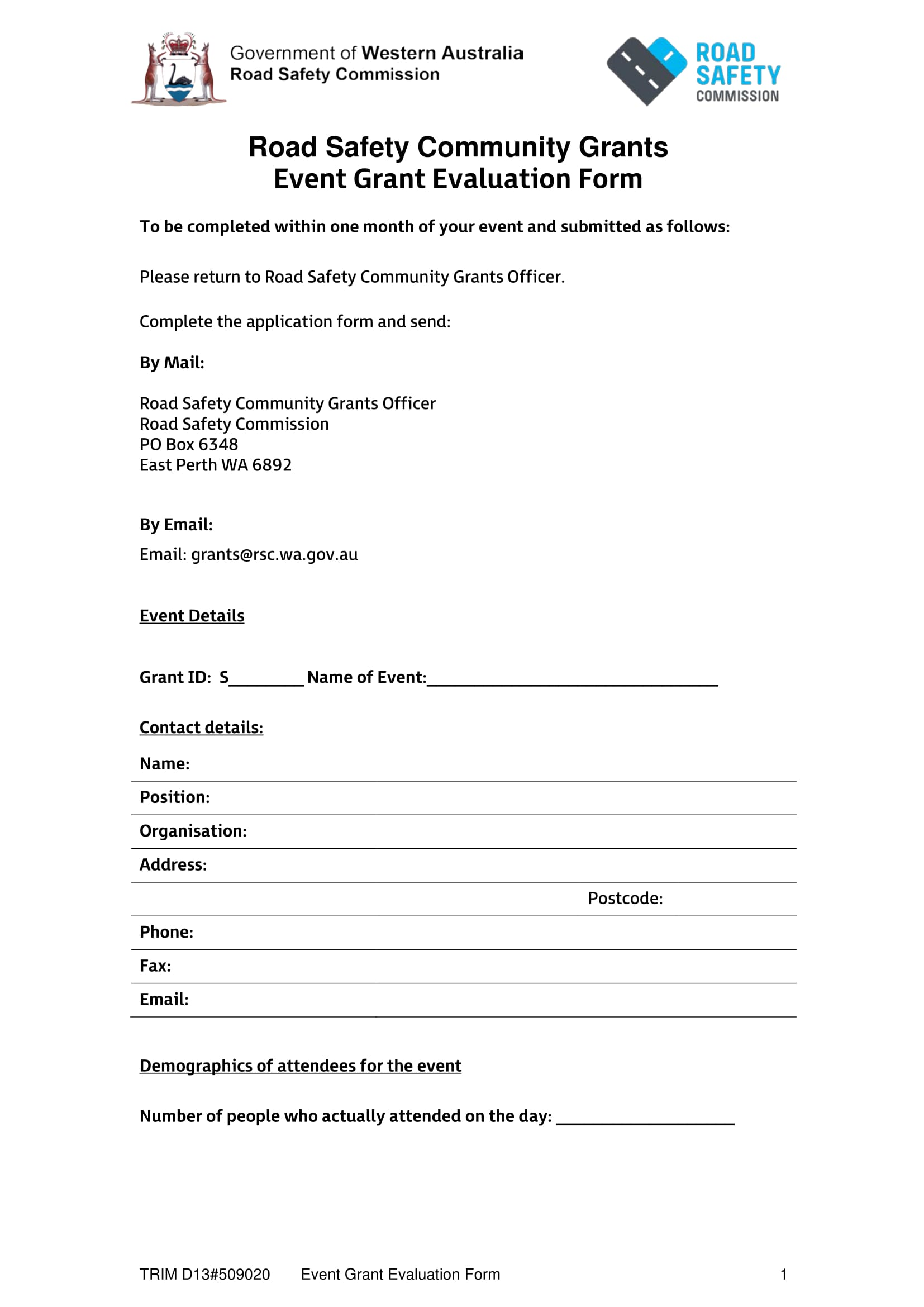 event grant evaluation form 1