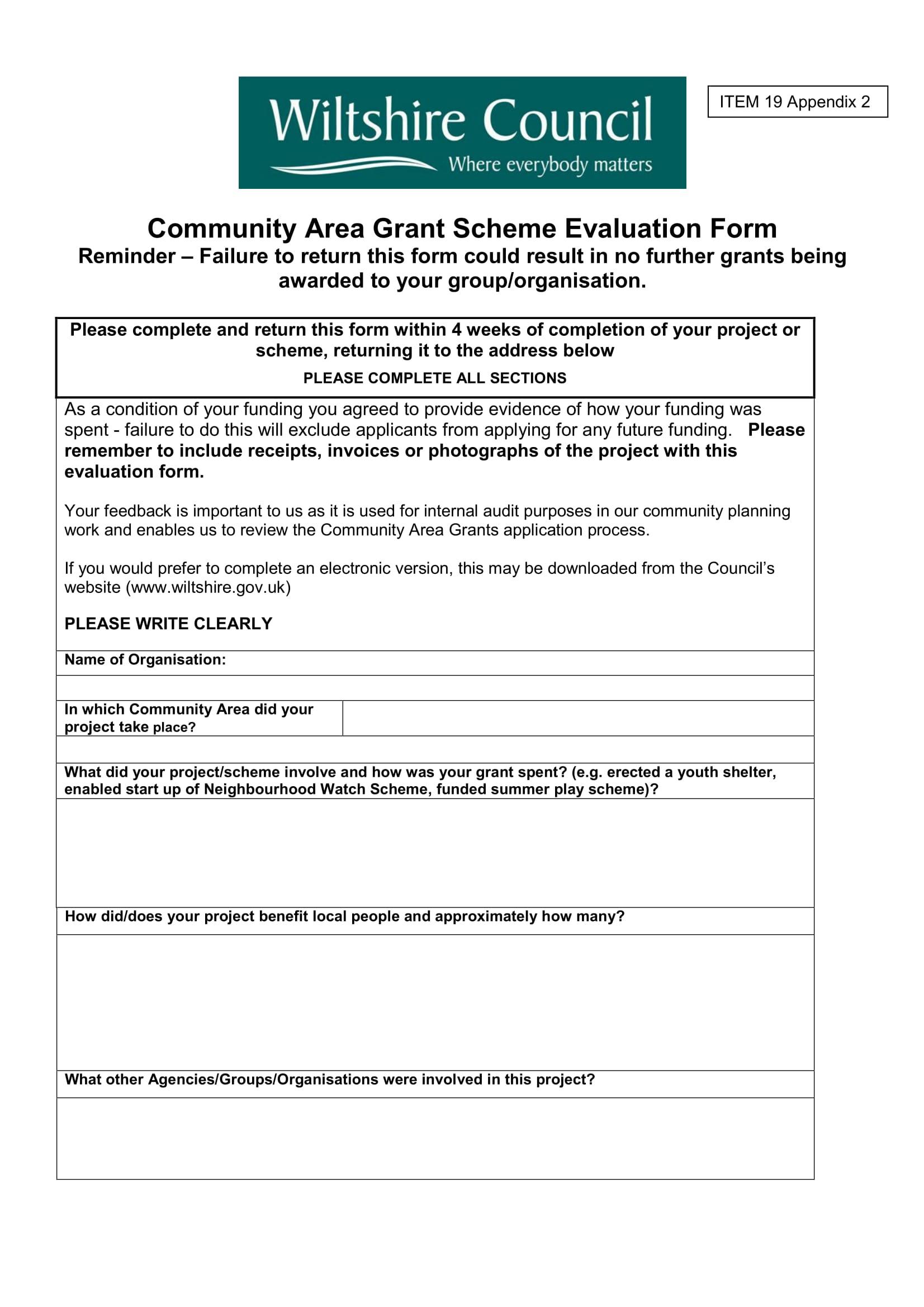 grant scheme evaluation form 1