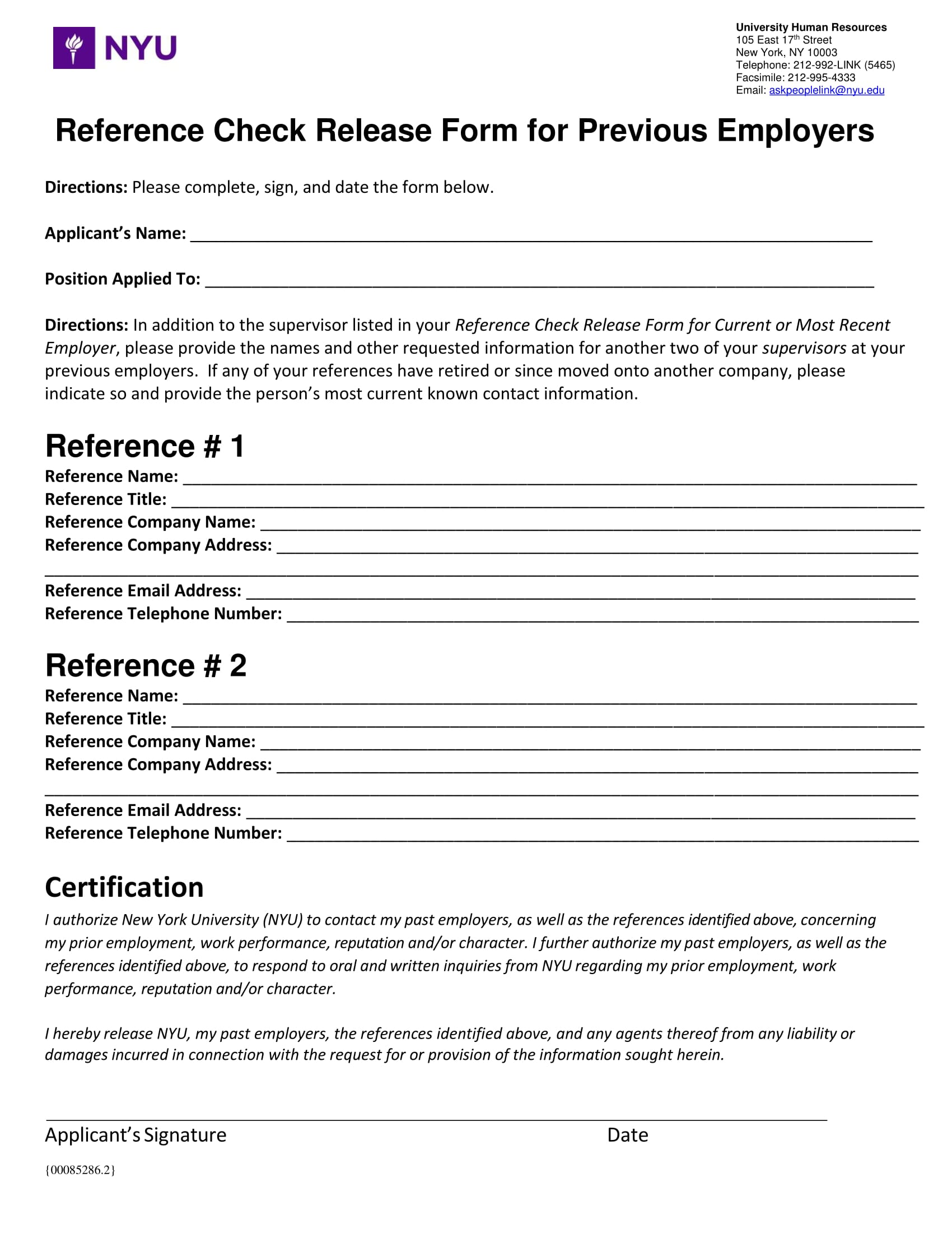 Best Sample Reference Check Template Pictures Resume Samples Previous  Employer Reference Check Release Form 1 Sample