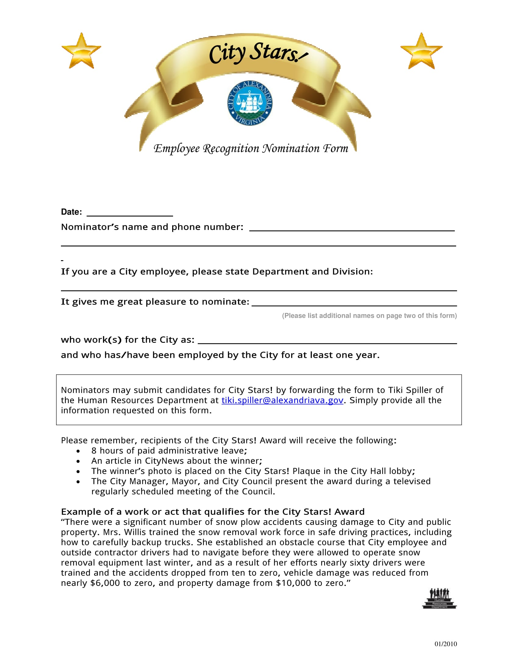 basic employee nomination form 1