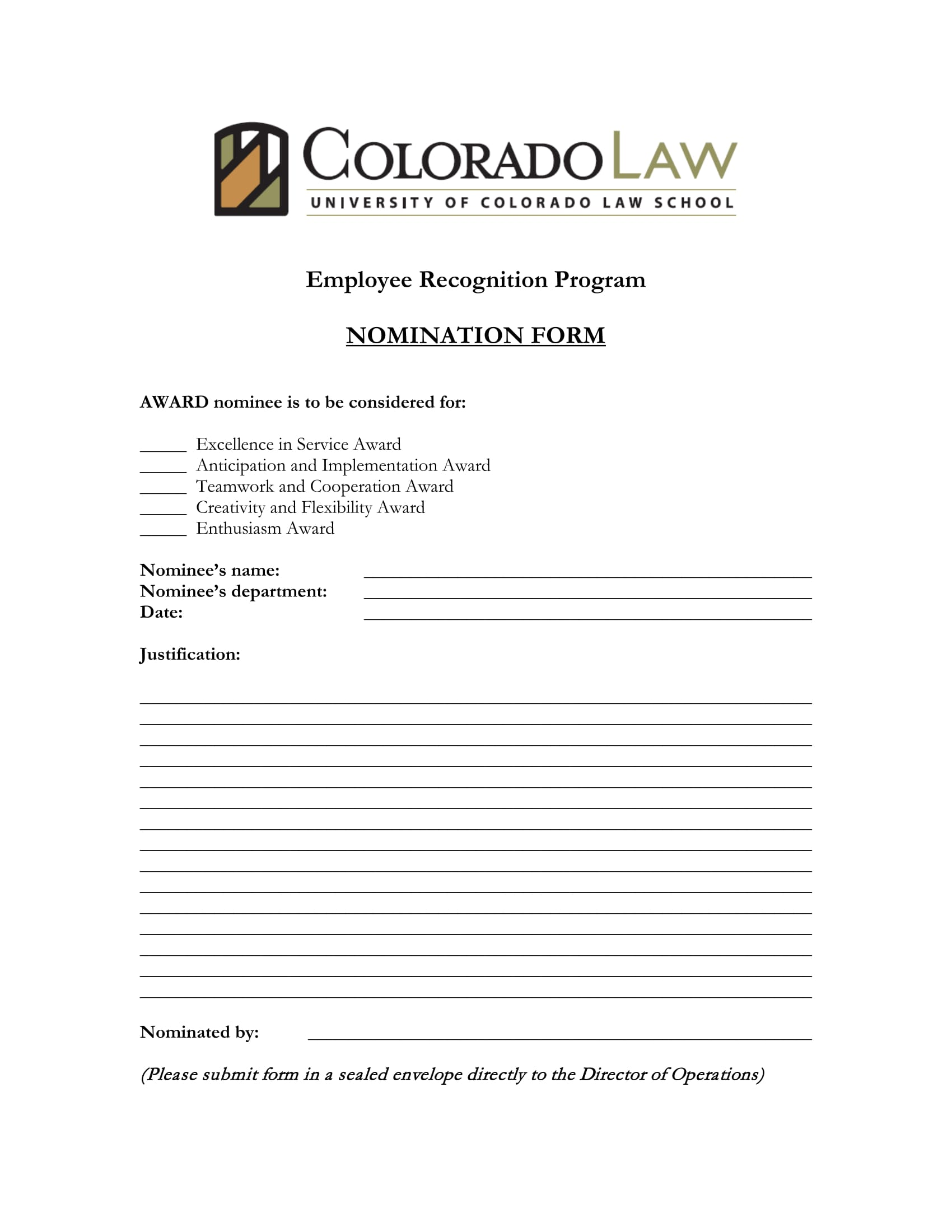 employee recognition and nomination form 1