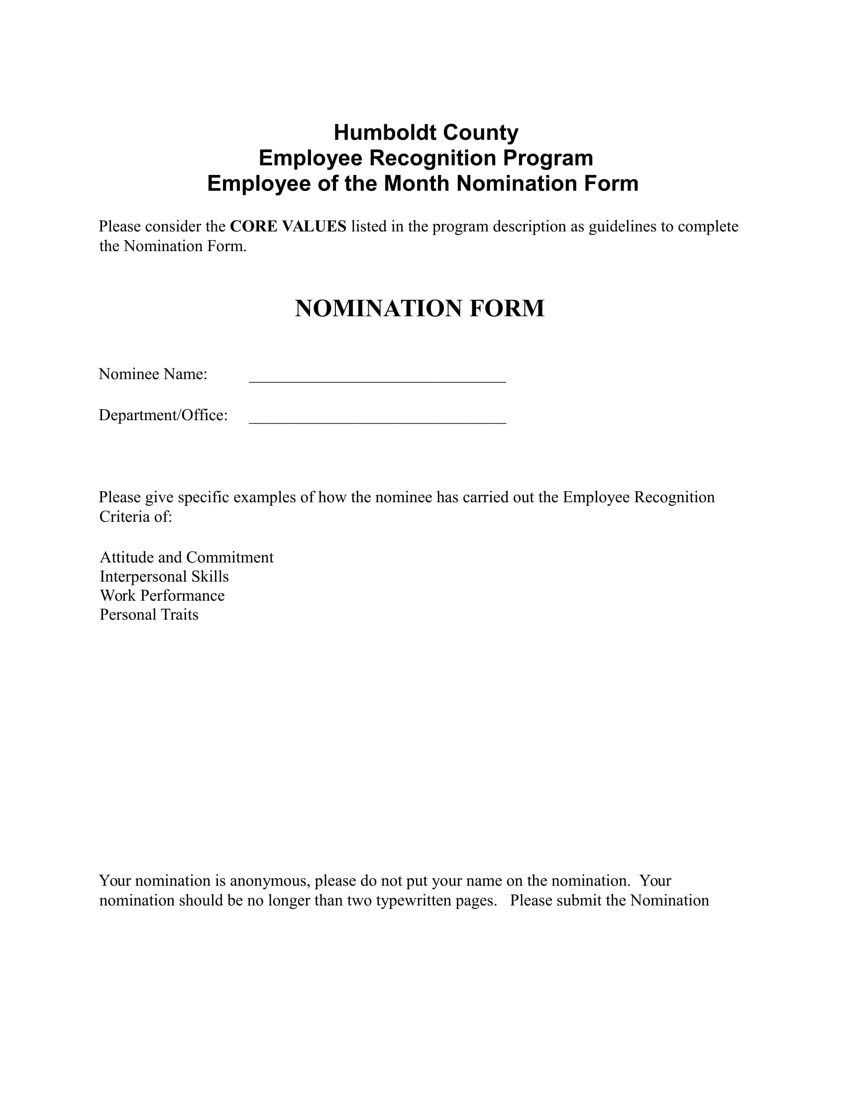 employee of the month nomination form in doc 1