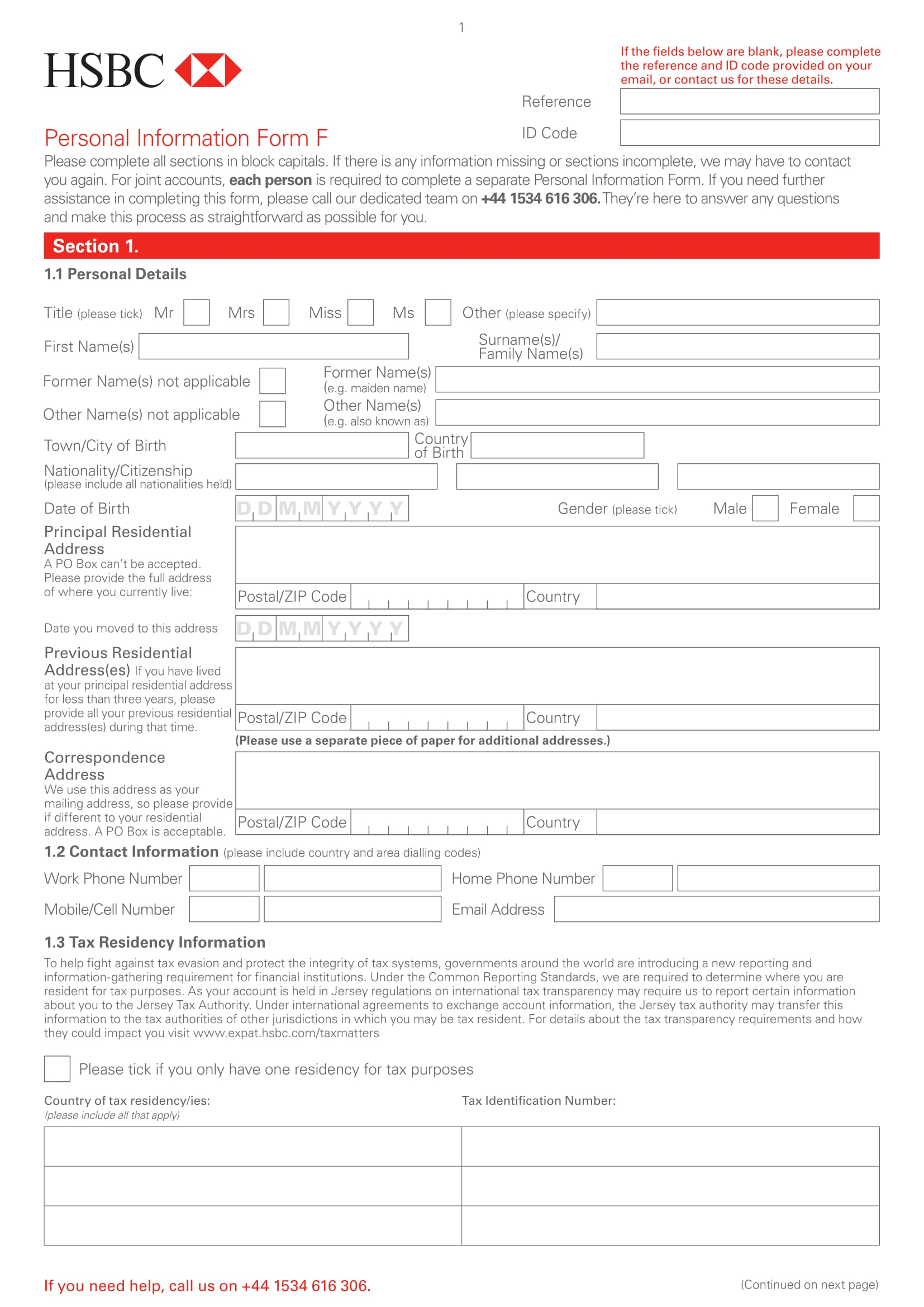 free 14  personal information forms in word