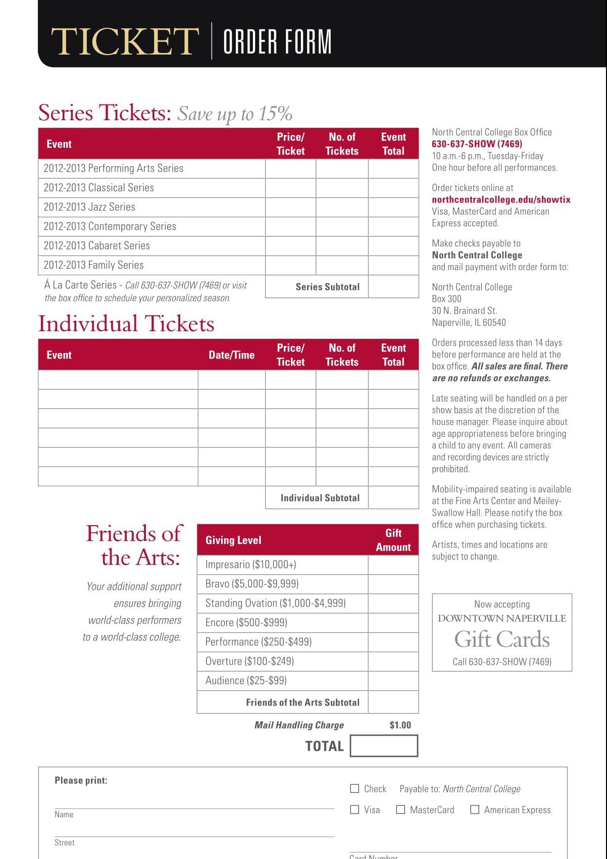 ticket order form sample 1 e1512610053202