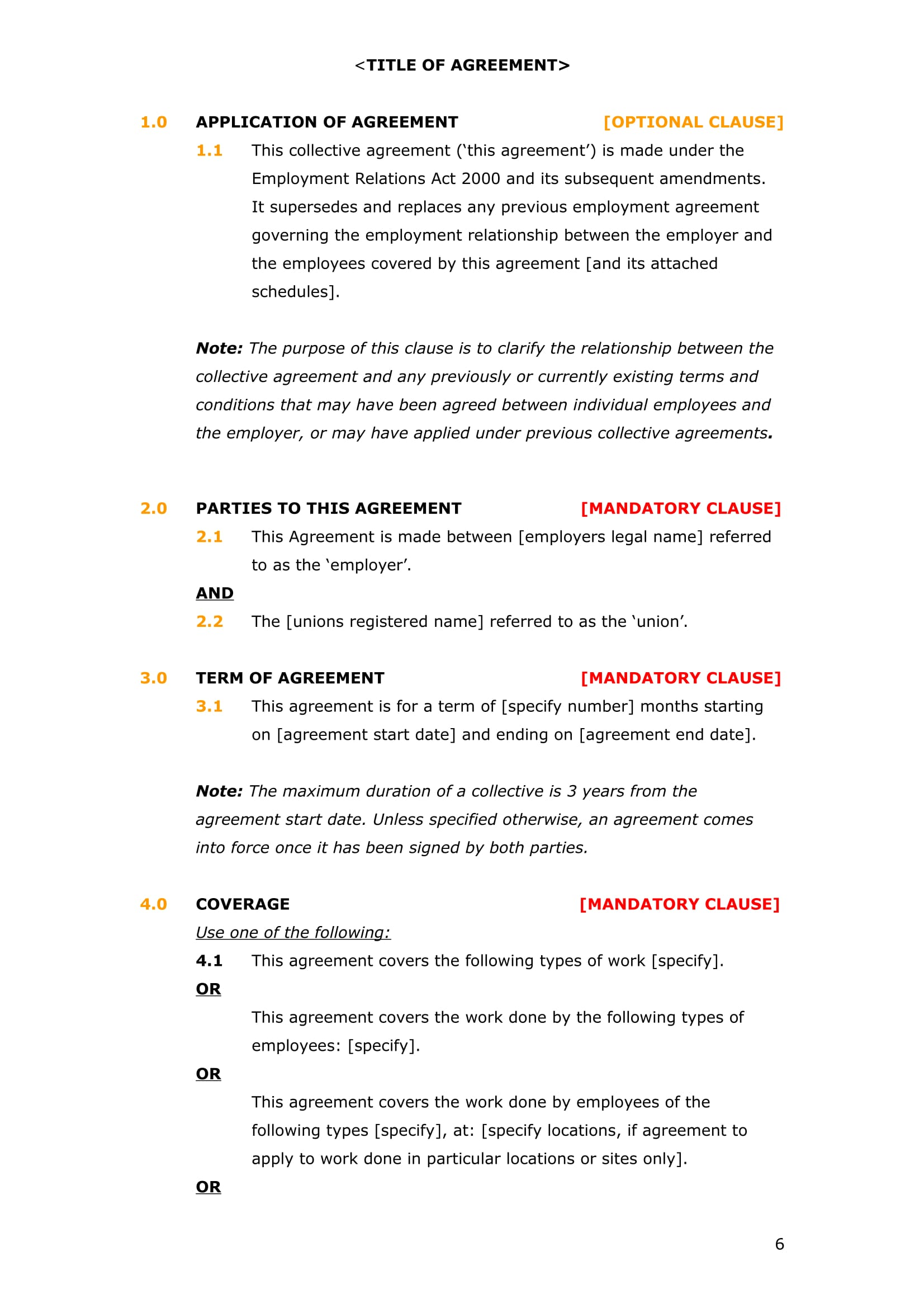 8+ Employment Agreement Forms