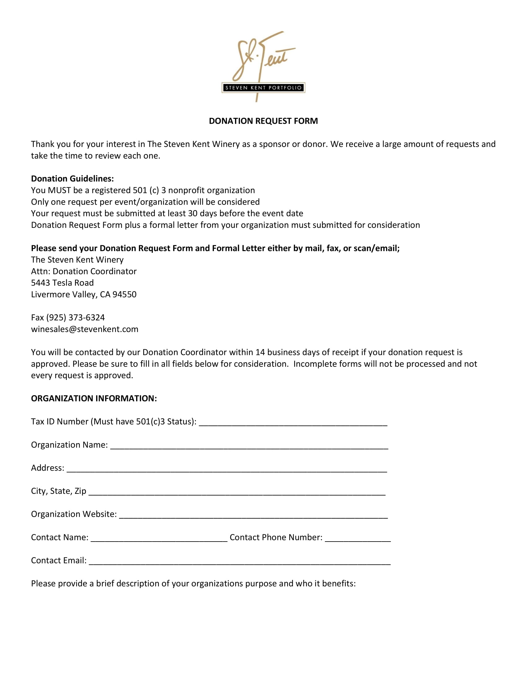 Donation-Request-Form-1 Tax Forms Completed Examples on individual income tax examples, da form 4856 counseling examples, tax rate examples, federal income tax examples, completed job application form examples, hand filling out 1040 tax form examples,